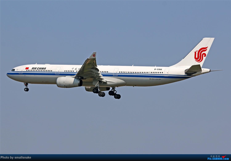 Re:[原创]国庆期间,CAN的那些宽体们... AIRBUS A330-300 B-5916 广州白云国际机场