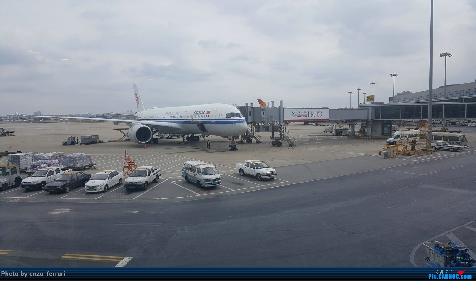 Re:[原创]上海虹桥偶遇国航350 AIRBUS A350-900 B-1085 中国上海虹桥国际机场