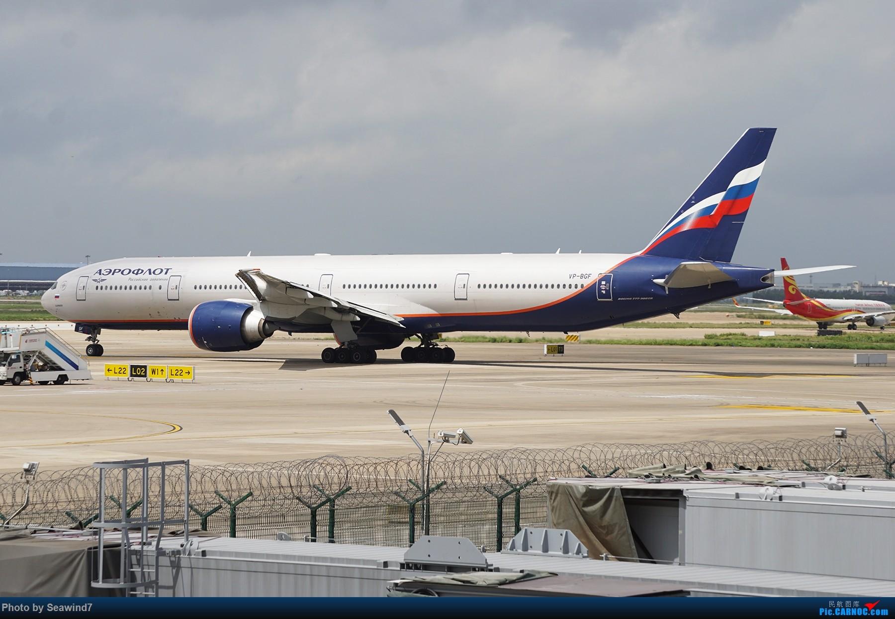 Re:[原创]浦东拍机记 BOEING 777-300ER  中国上海浦东国际机场