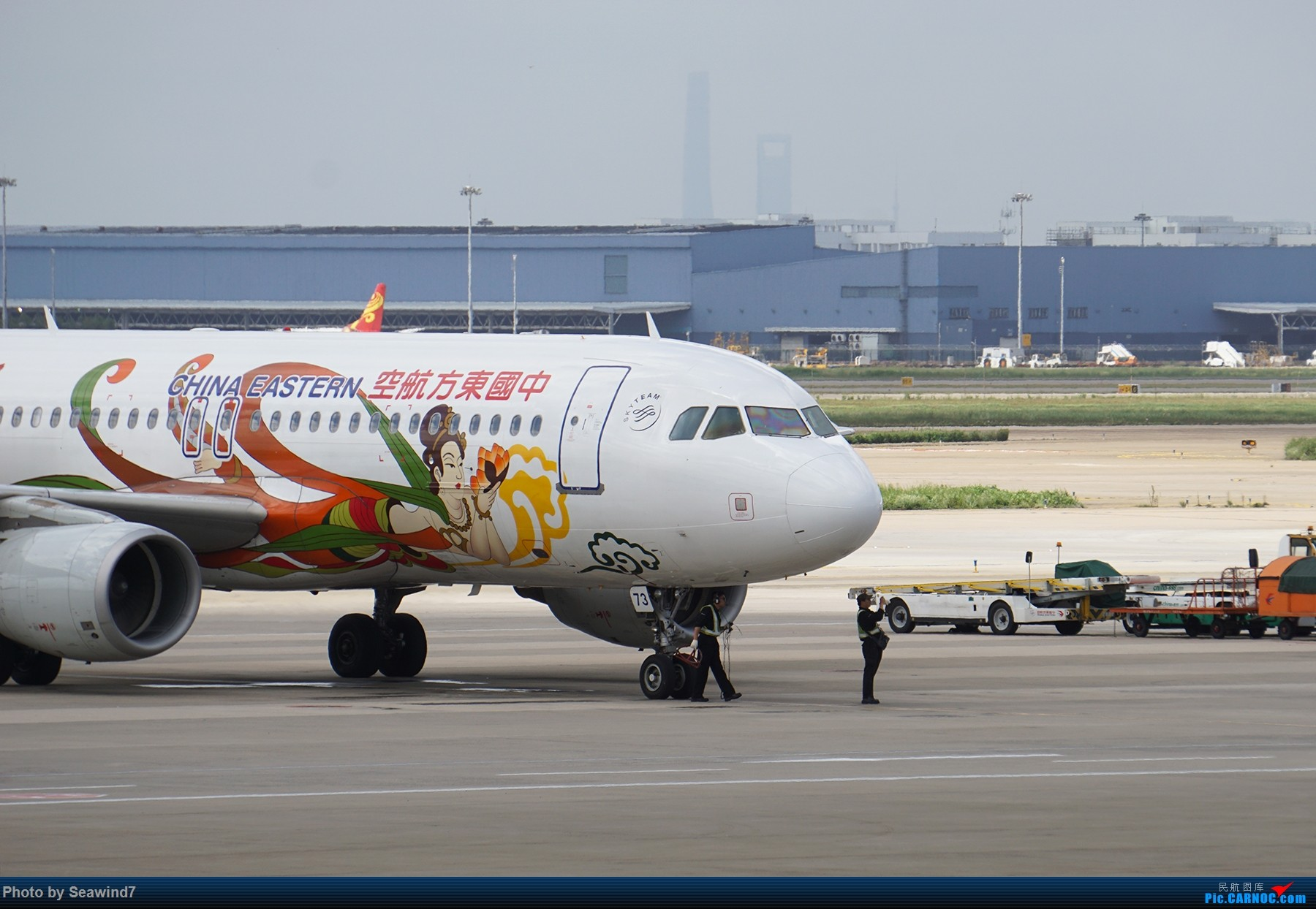 Re:[原创]浦东拍机记 AIRBUS A320-200 B-6873 中国上海浦东国际机场