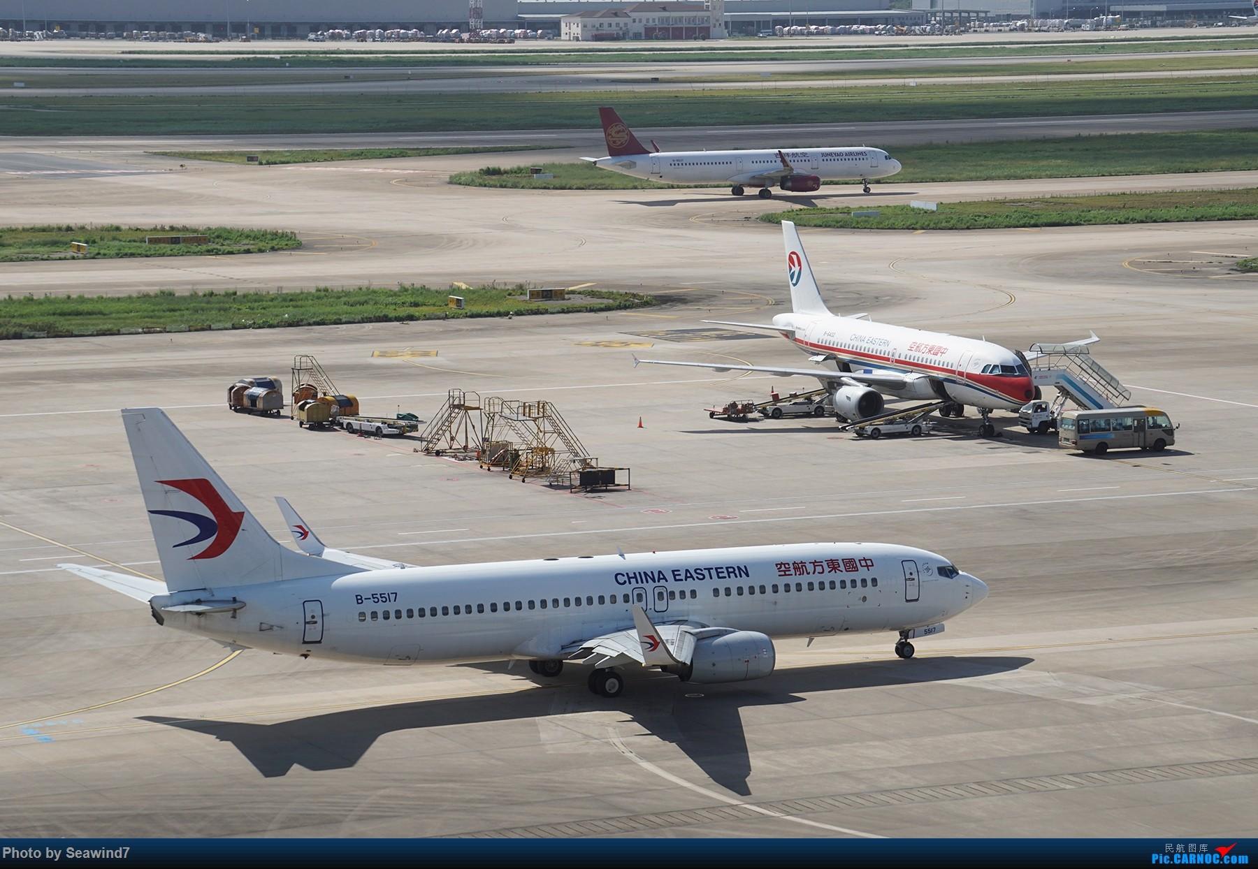 Re:[原创]浦东拍机记 BOEING 737-800 B-5517 中国上海浦东国际机场