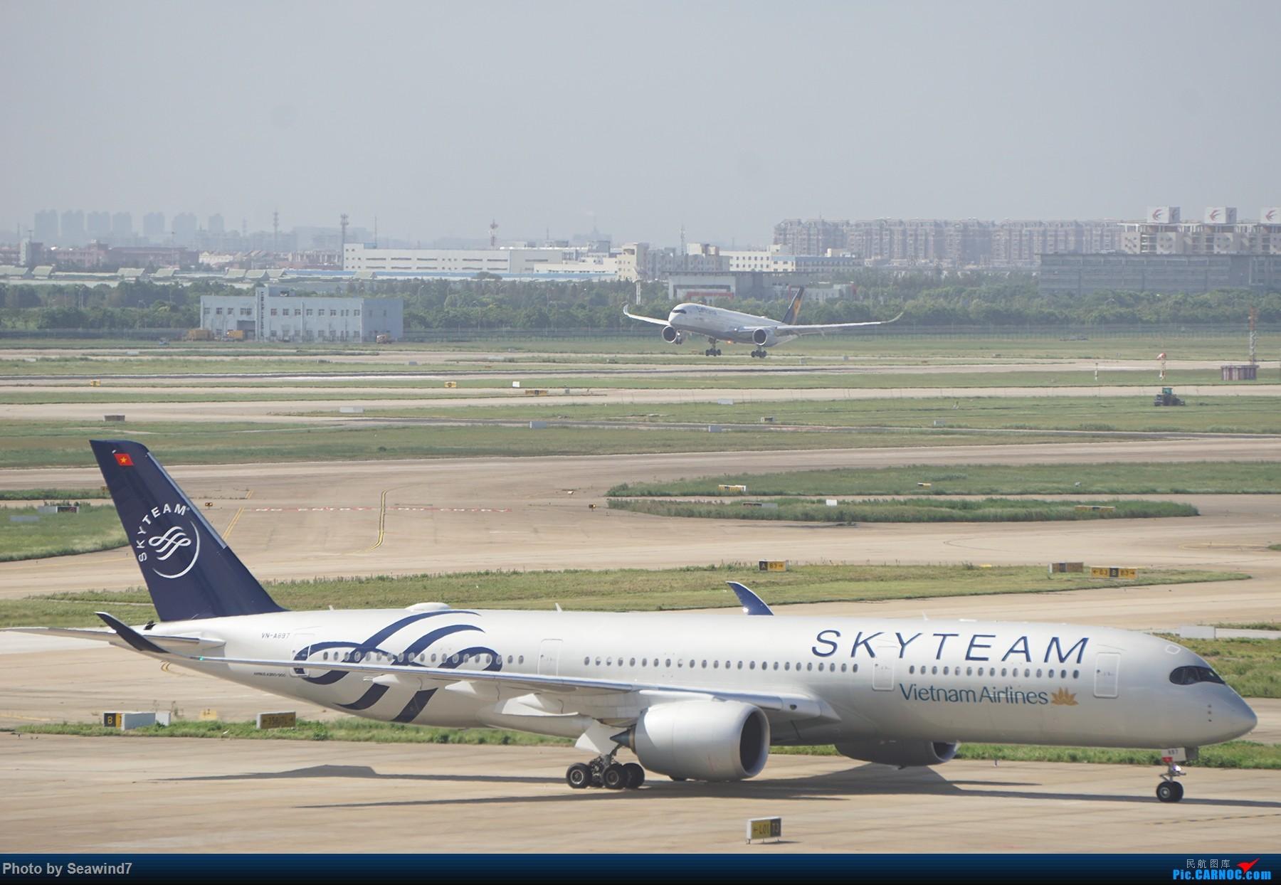 Re:[原创]浦东拍机记 AIRBUS A350-900  中国上海浦东国际机场