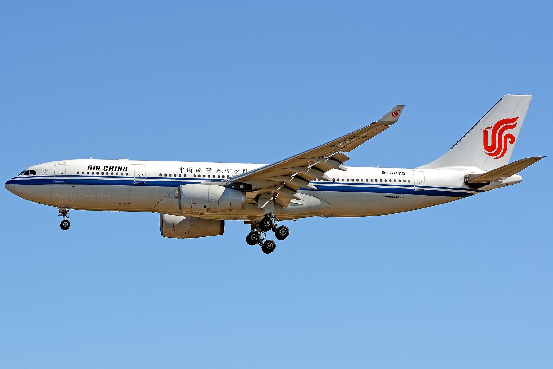 Re:[原创]【多图党】PEK落地一组国航系【2】 AIRBUS A330-200 B-6070 中国北京首都国际机场