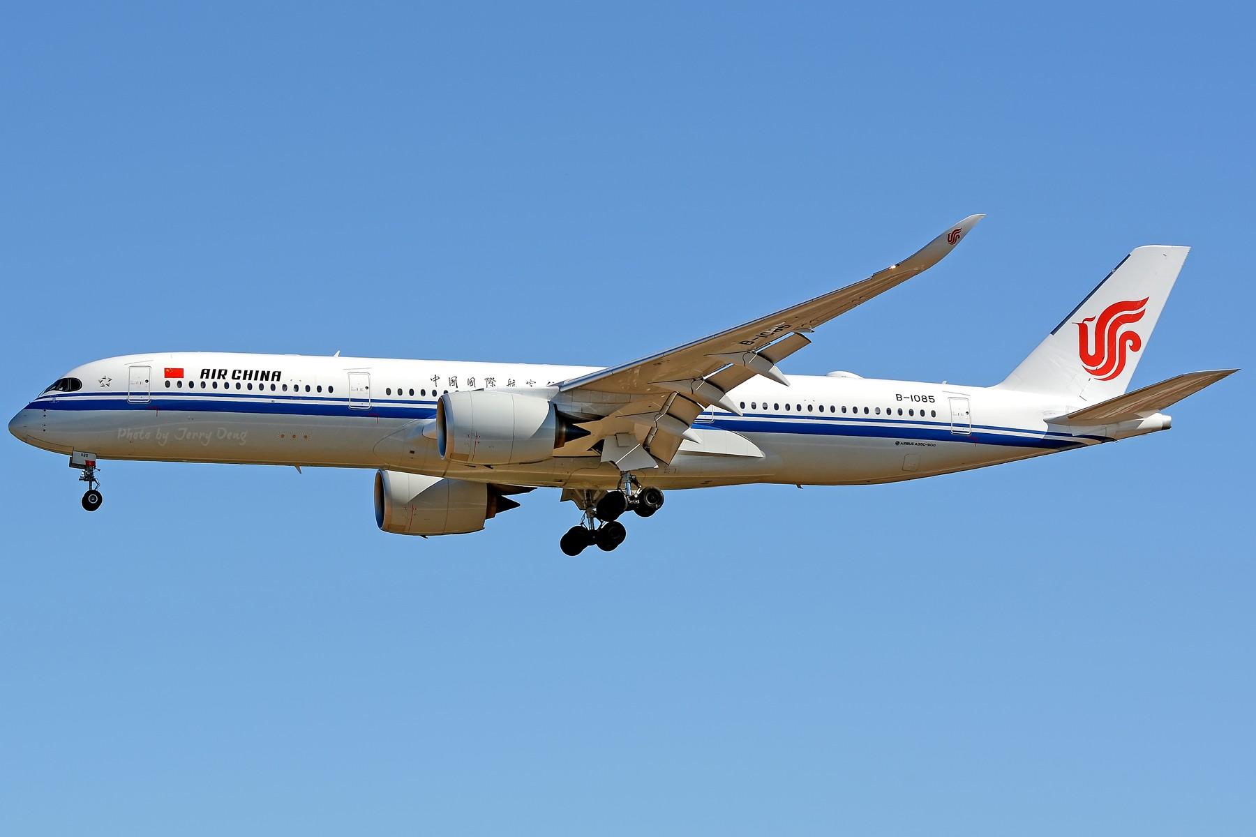 Re:[原创]【多图党】PEK落地一组国航系【2】 AIRBUS A350-900 B-1085 中国北京首都国际机场
