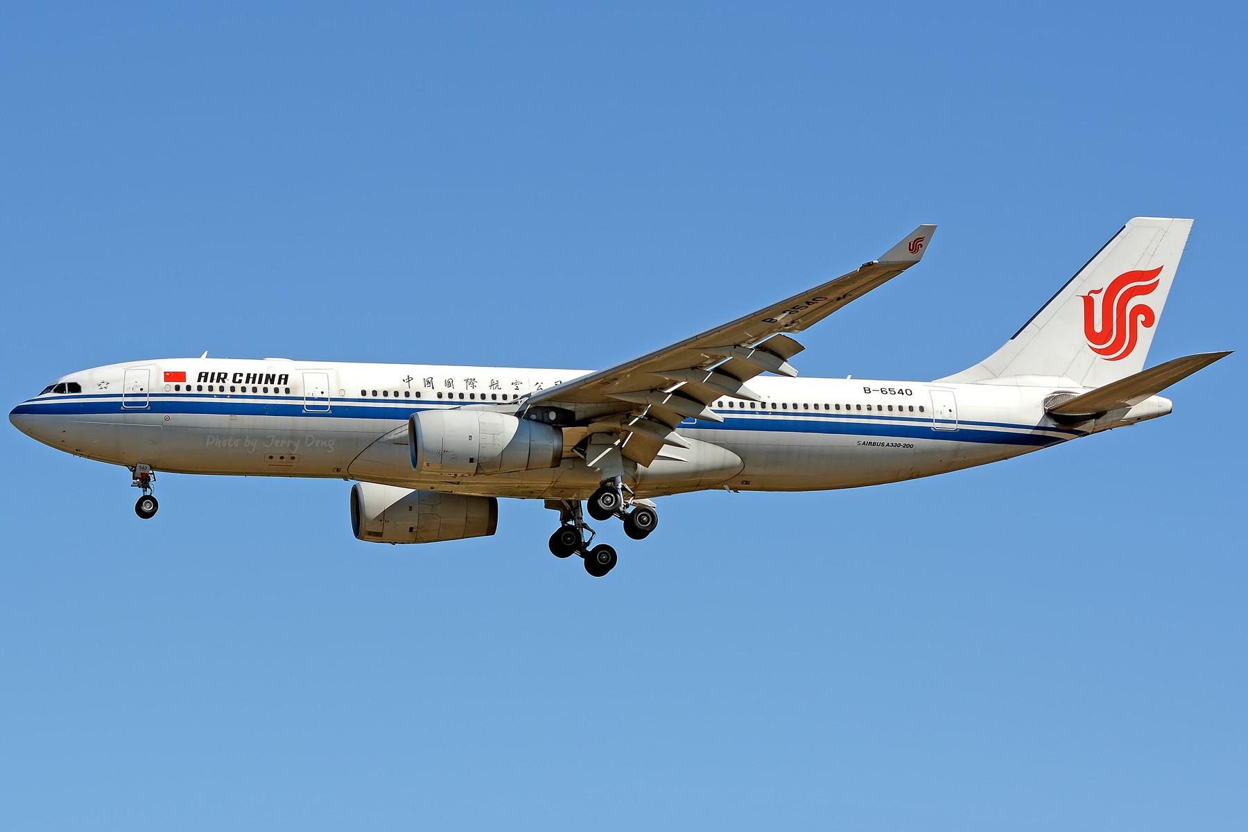 Re:[原创]【多图党】PEK落地一组国航系【2】 AIRBUS A330-200 B-6540 中国北京首都国际机场