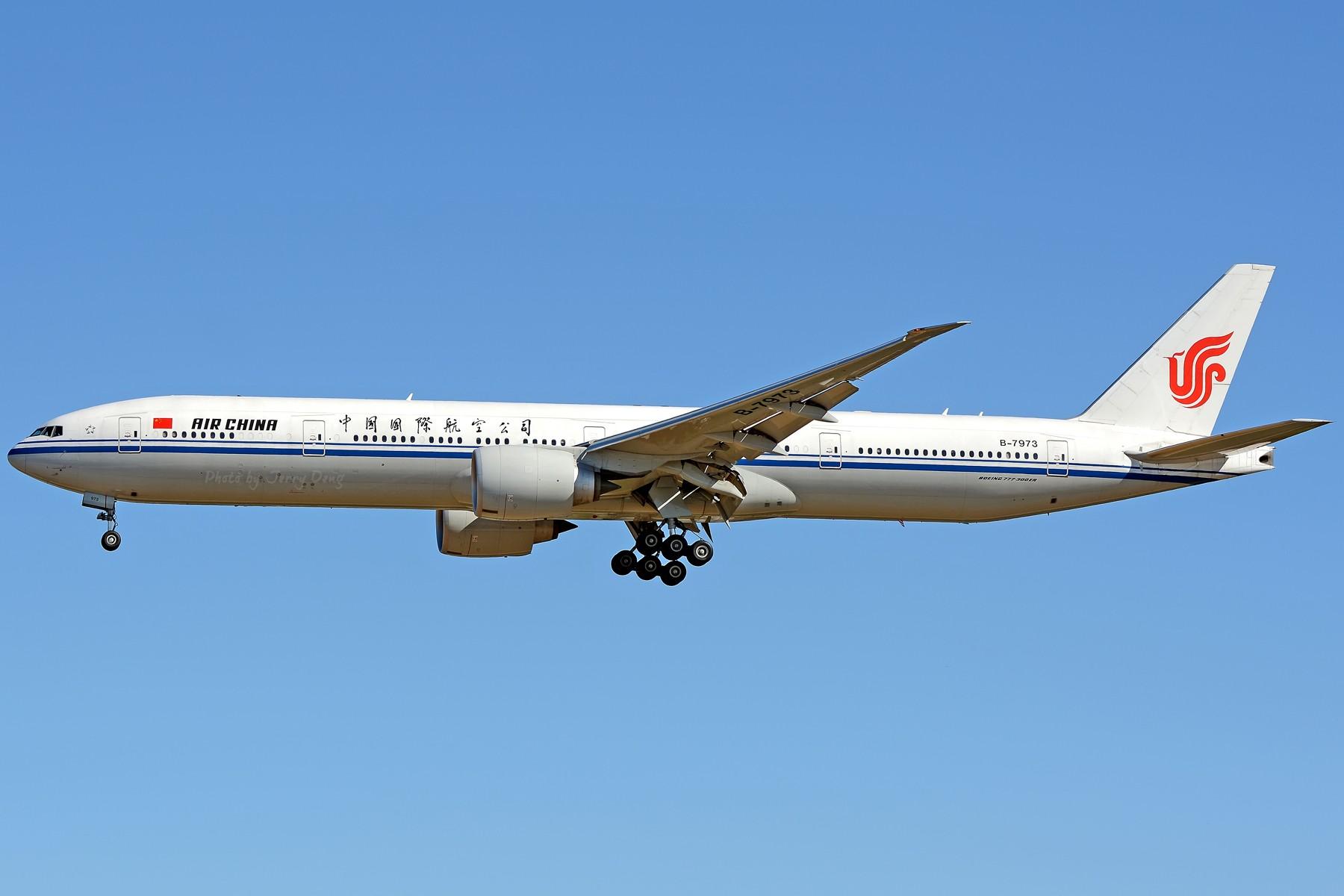 Re:[原创]【多图党】PEK落地一组国航系【2】 BOEING 777-300ER B-7973 中国北京首都国际机场