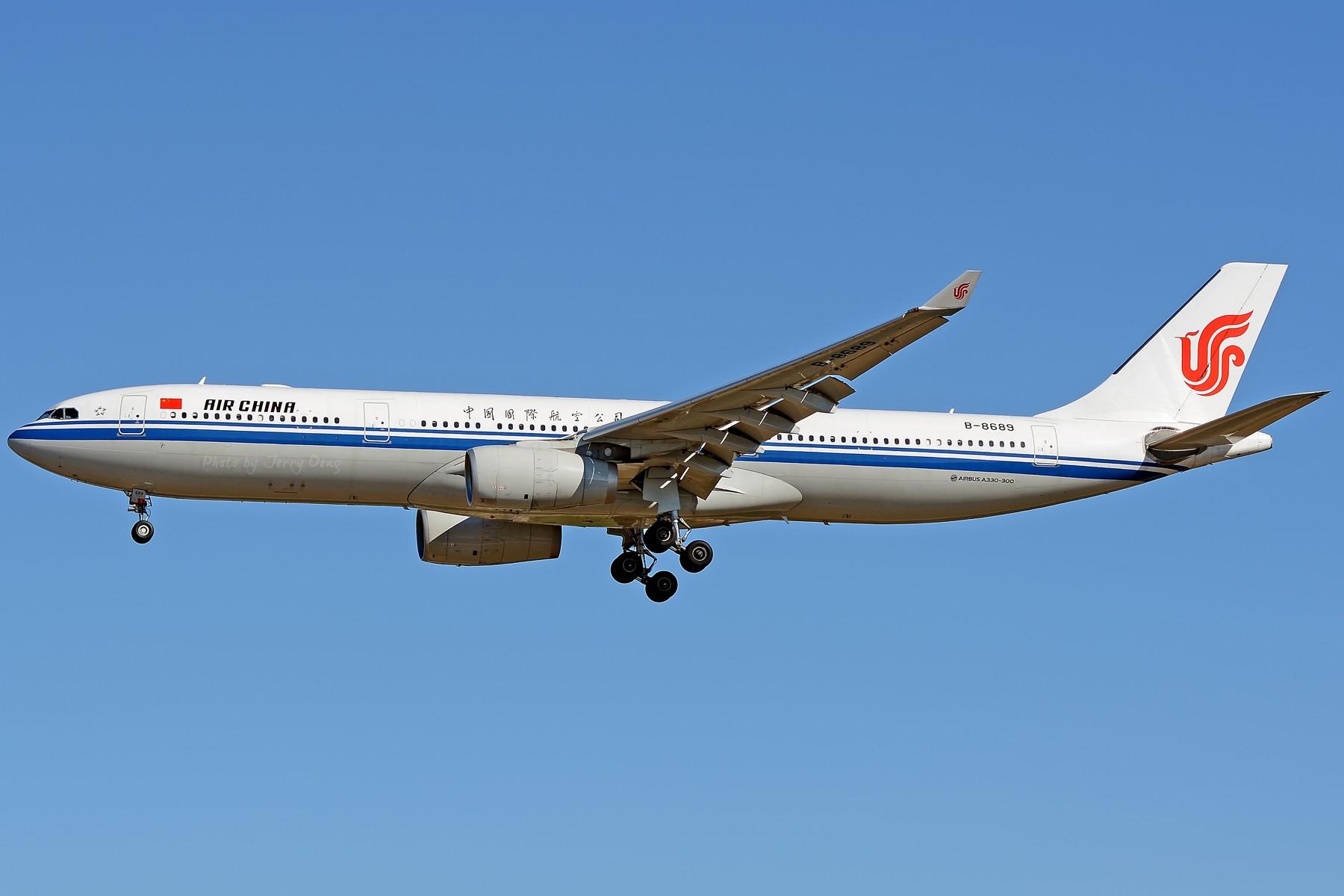 Re:[原创]【多图党】PEK落地一组国航系【2】 AIRBUS A330-300 B-8689 中国北京首都国际机场