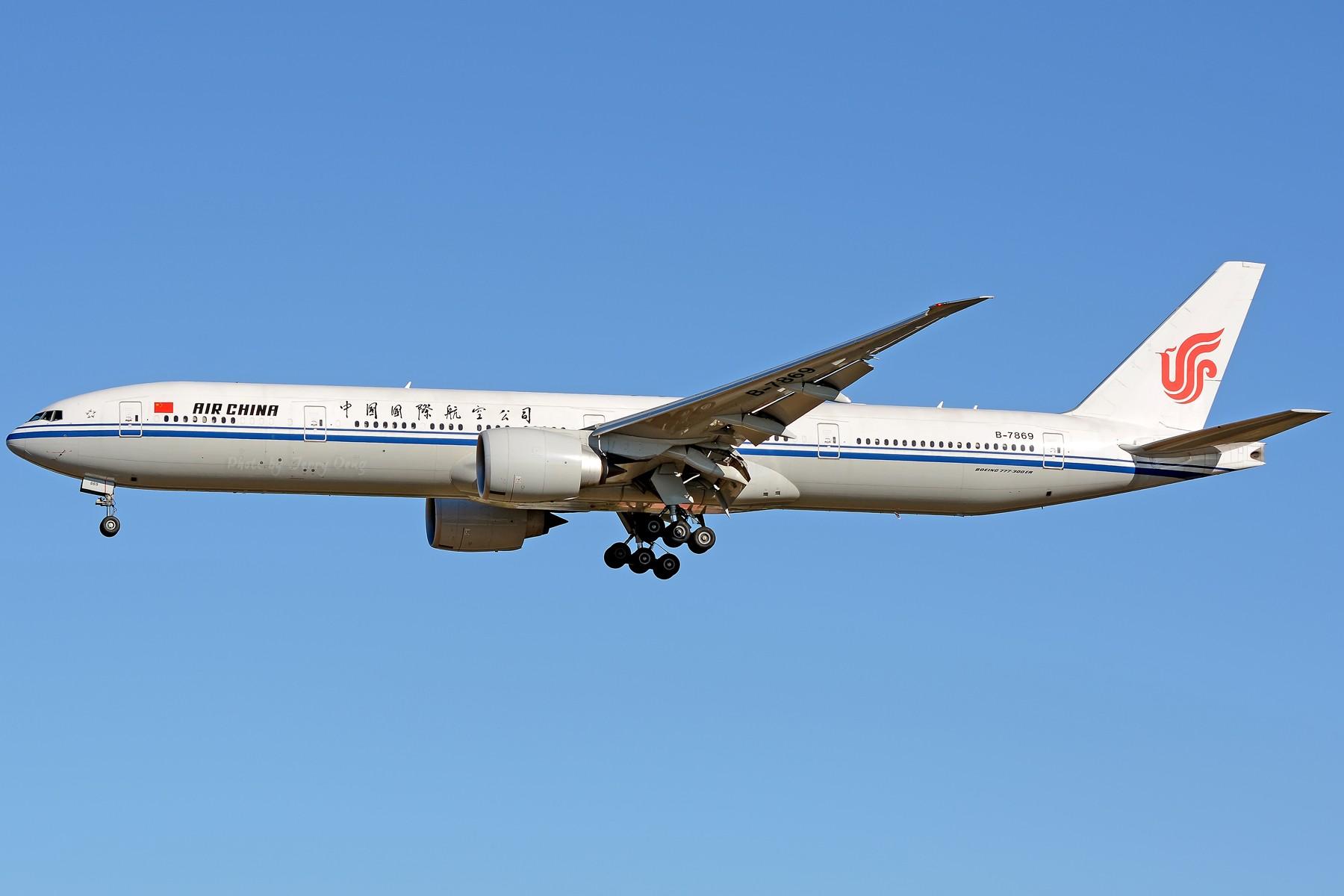 Re:[原创]【多图党】PEK落地一组国航系【2】 BOEING 777-300ER B-7869 中国北京首都国际机场