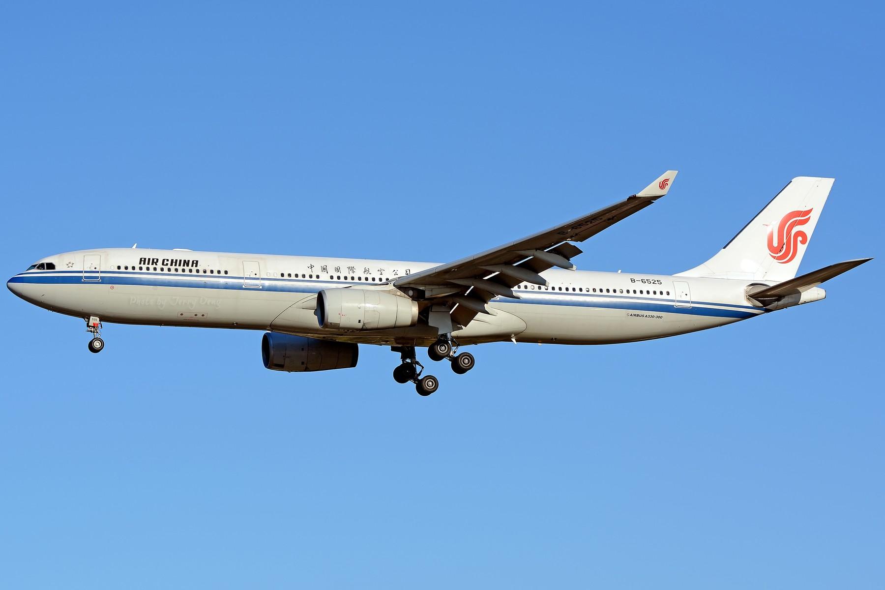 Re:[原创]【多图党】PEK落地一组国航系【2】 AIRBUS A330-300 B-6525 中国北京首都国际机场