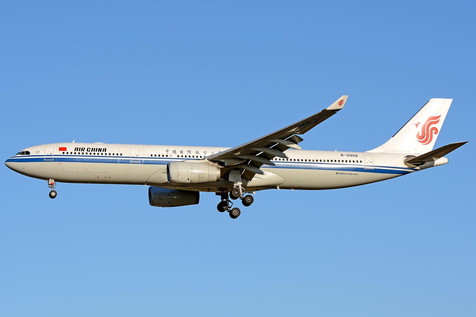 Re:[原创]【多图党】PEK落地一组国航系【2】 AIRBUS A330-300 B-5906 中国北京首都国际机场