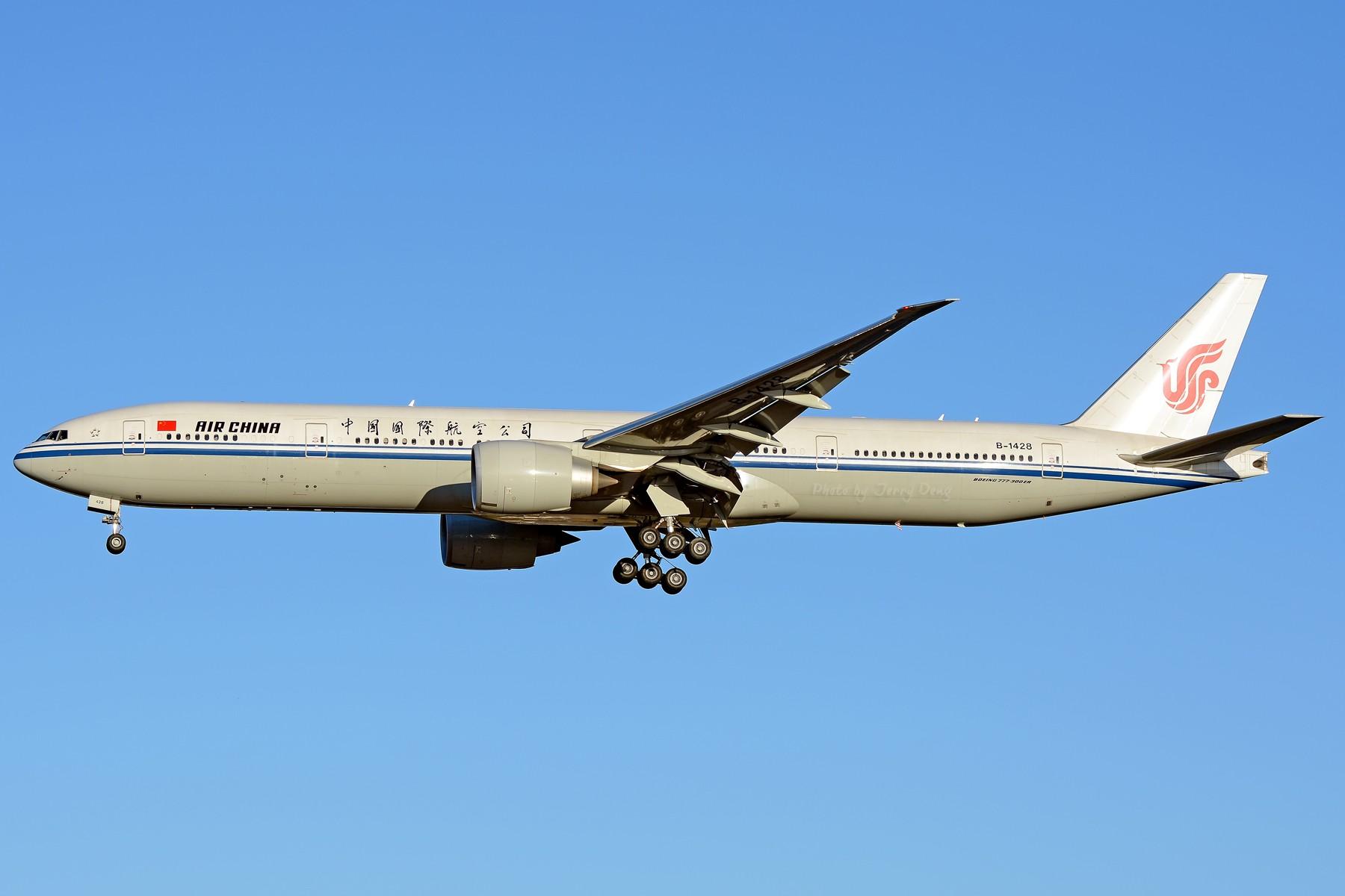 Re:[原创]【多图党】PEK落地一组国航系【2】 BOEING 777-300ER B-1428 中国北京首都国际机场