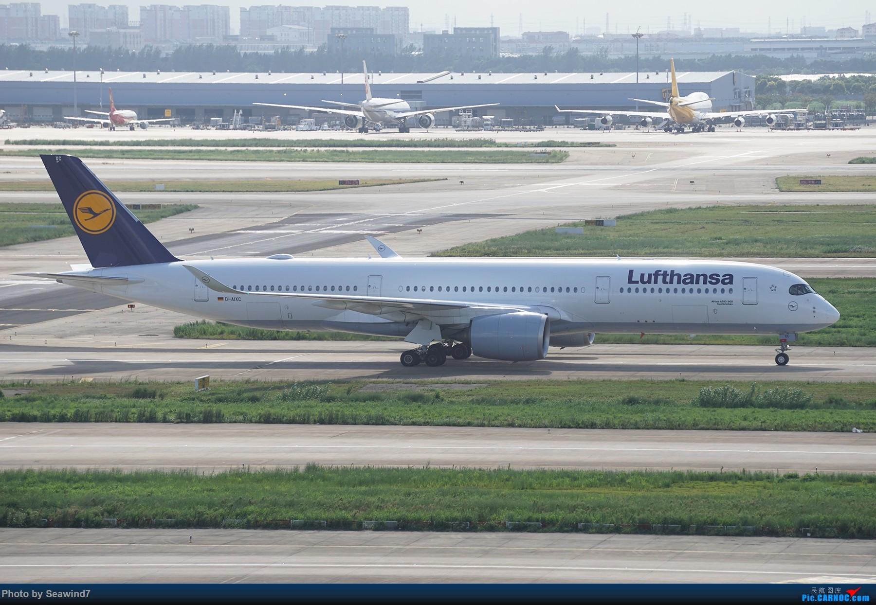 Re:[原创]浦东拍机记 AIRBUS A350-900 D-AIXC 中国上海浦东国际机场