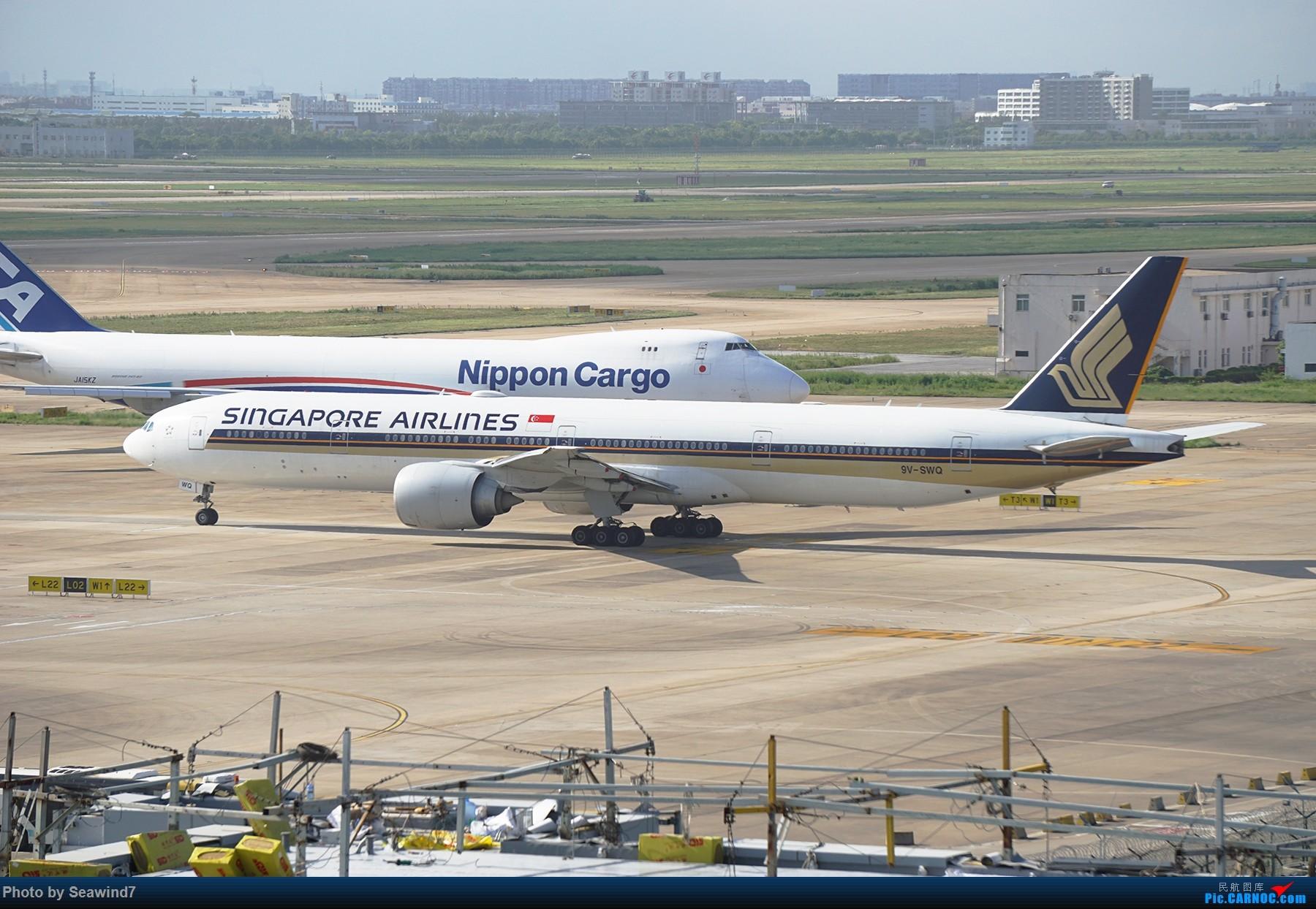 Re:[原创]浦东拍机记 BOEING 777-300ER 9V-SWQ 中国上海浦东国际机场