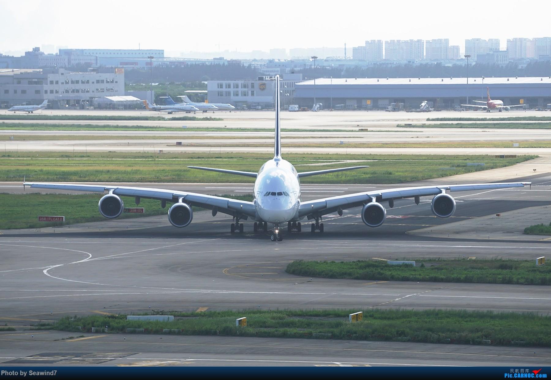 Re:[原创]浦东拍机记 AIRBUS A380 9V-SKU 中国上海浦东国际机场