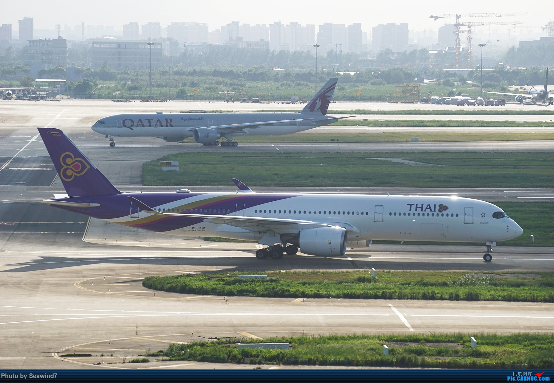 Re:[原创]浦东拍机记 AIRBUS A350-900 HS-THD 中国上海浦东国际机场