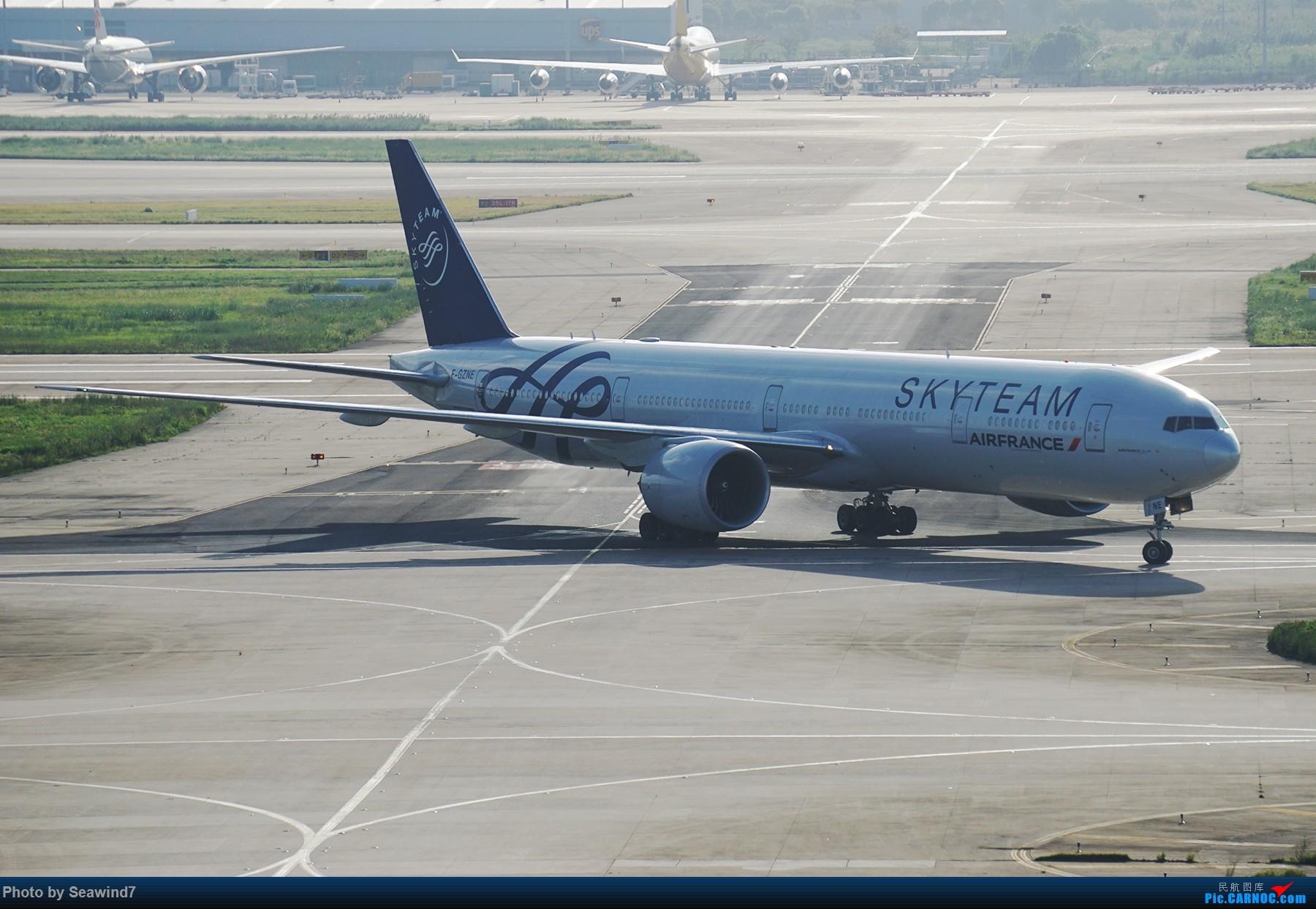 Re:[原创]浦东拍机记 BOEING 777-300ER F-GZNE 中国上海浦东国际机场