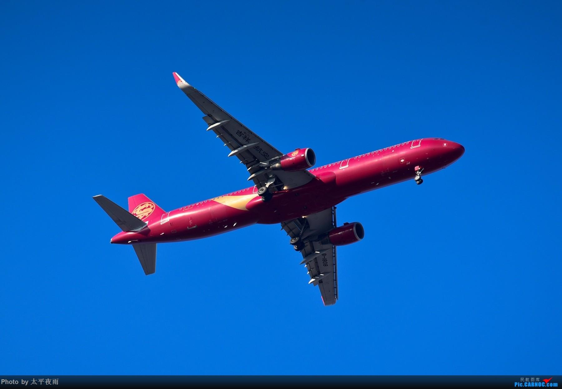Re:10月TAO杂拍,A330花海中进场 AIRBUS A321-200 B-1808 中国青岛流亭国际机场