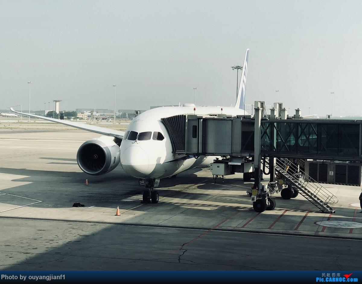 又是好久没来坛子了,发几篇2018年的飞行游记纪念一下吧....第一篇,环球飞行之旅:北京-纽瓦克-波哥大-麦德林-巴拿马城-墨西哥城-法兰克福-北京 BOEING 787-8 JA803A 中国北京首都国际机场