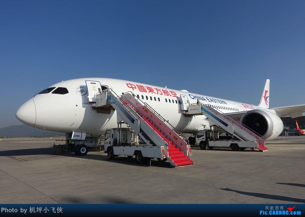 Re:[原创]爱好从未改变——记东航云南公司首架B787-9入列 BOEING 787-9 B-206K 中国昆明长水国际机场