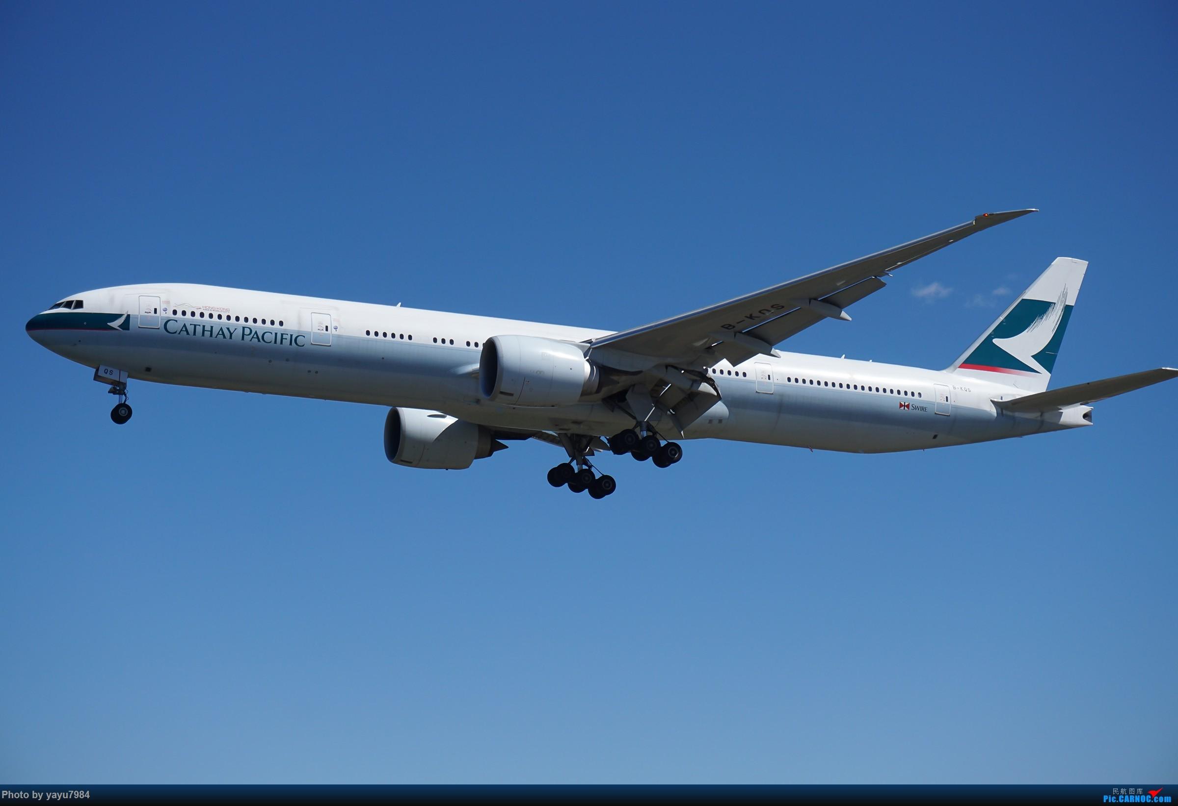 Re:[原创][SYD] 东航天合332,雪绒花343,华航蓝鹊,以及其他日常货 BOEING 777-300ER B-KQS 澳大利亚悉尼金斯福德·史密斯机场