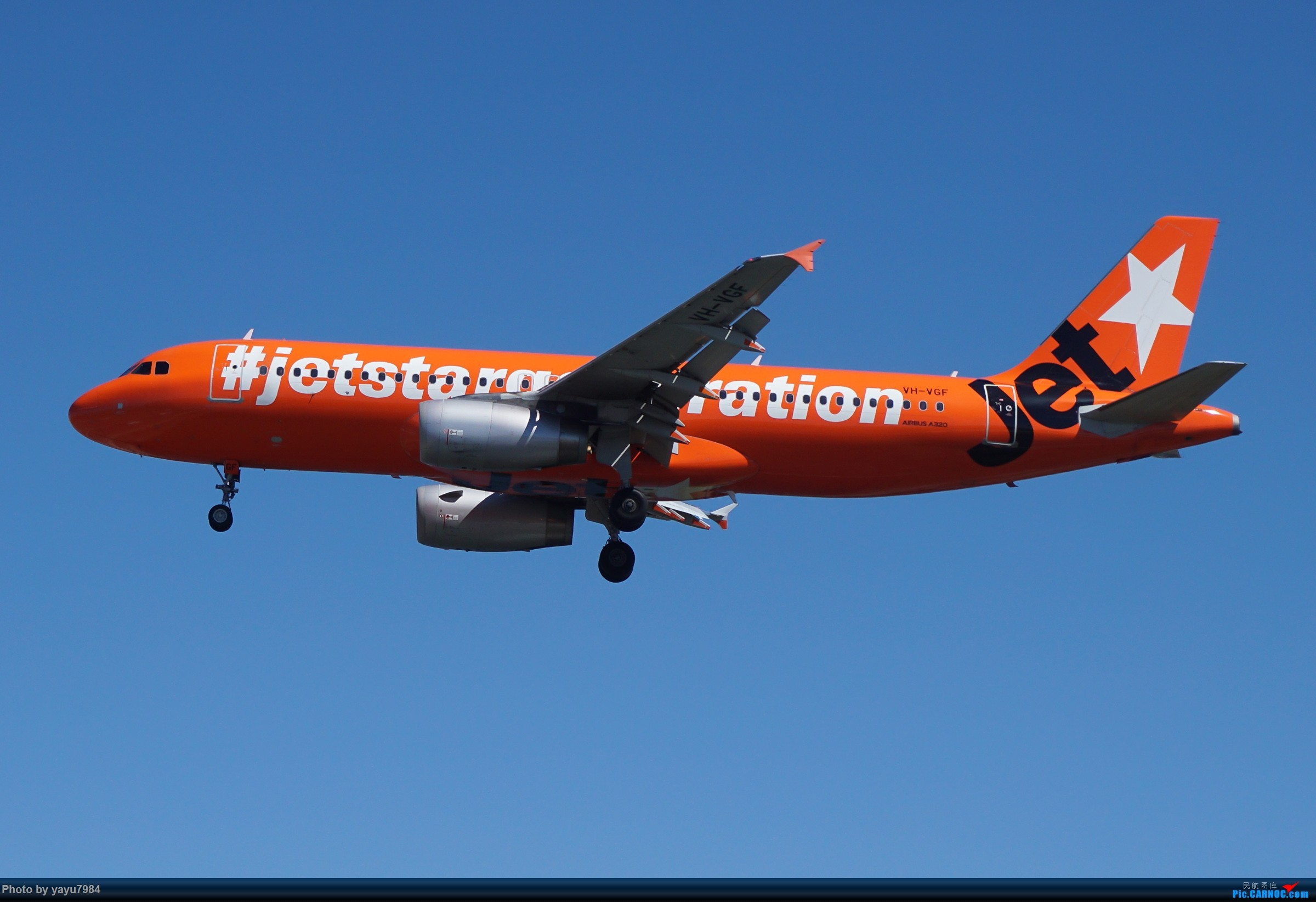 Re:[原创][SYD] 东航天合332,雪绒花343,华航蓝鹊,以及其他日常货 AIRBUS A320-200 VH-VGF 澳大利亚悉尼金斯福德·史密斯机场