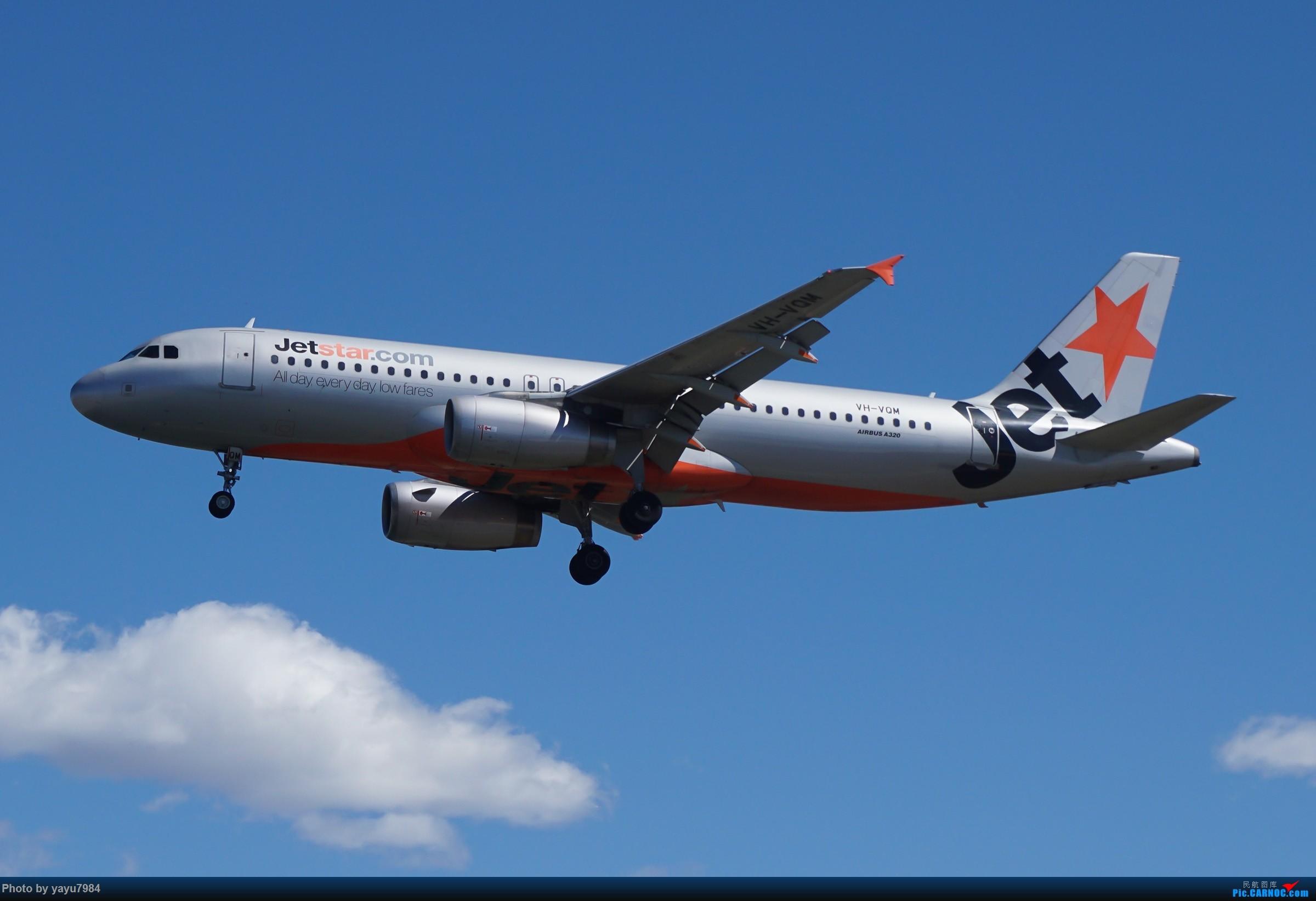 Re:[原创][SYD] 东航天合332,雪绒花343,华航蓝鹊,以及其他日常货 AIRBUS A320-200 VH-VQM 澳大利亚悉尼金斯福德·史密斯机场