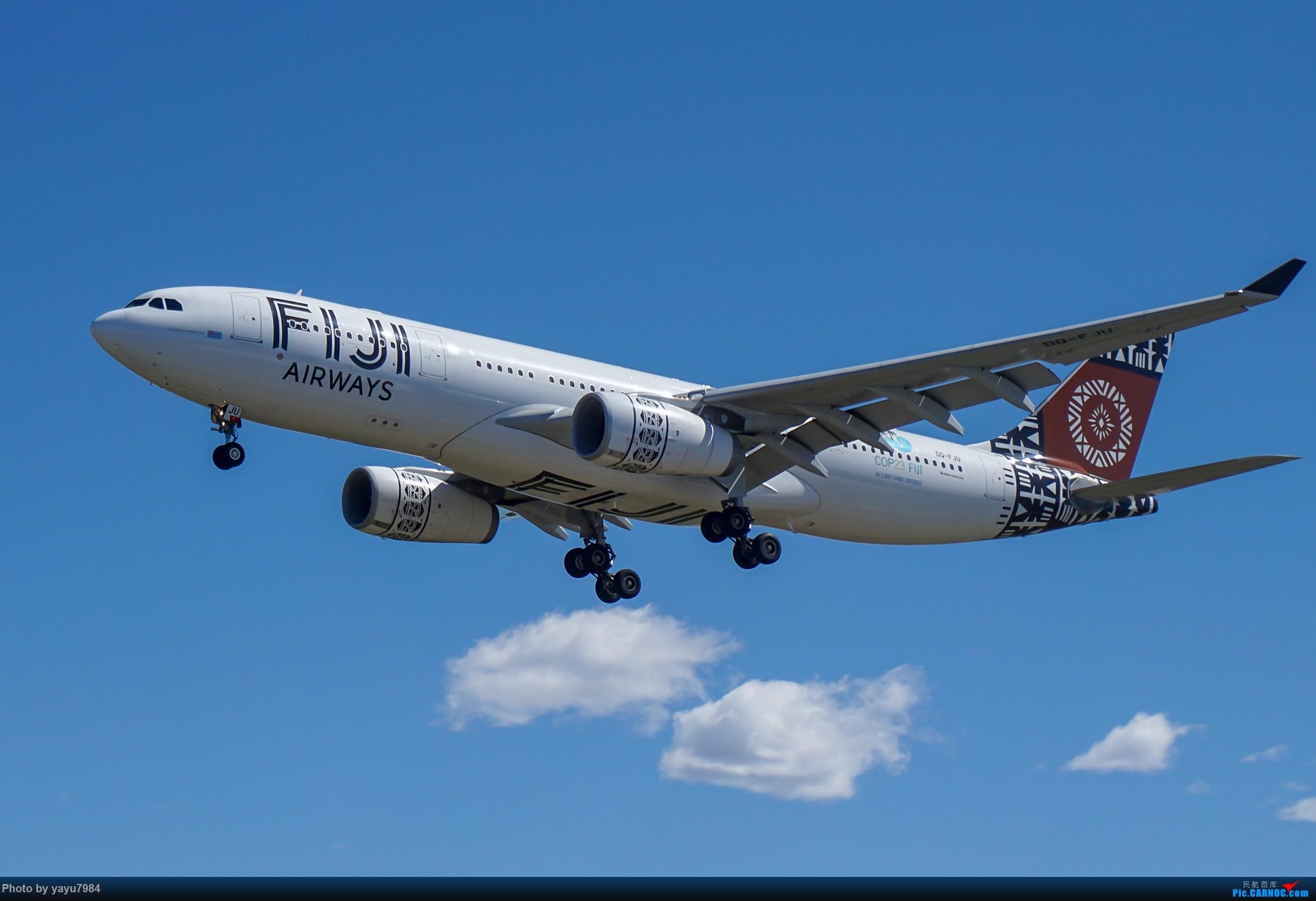 Re:[原创][SYD] 东航天合332,雪绒花343,华航蓝鹊,以及其他日常货 AIRBUS A330-200 DQ-FJU 澳大利亚悉尼金斯福德·史密斯机场