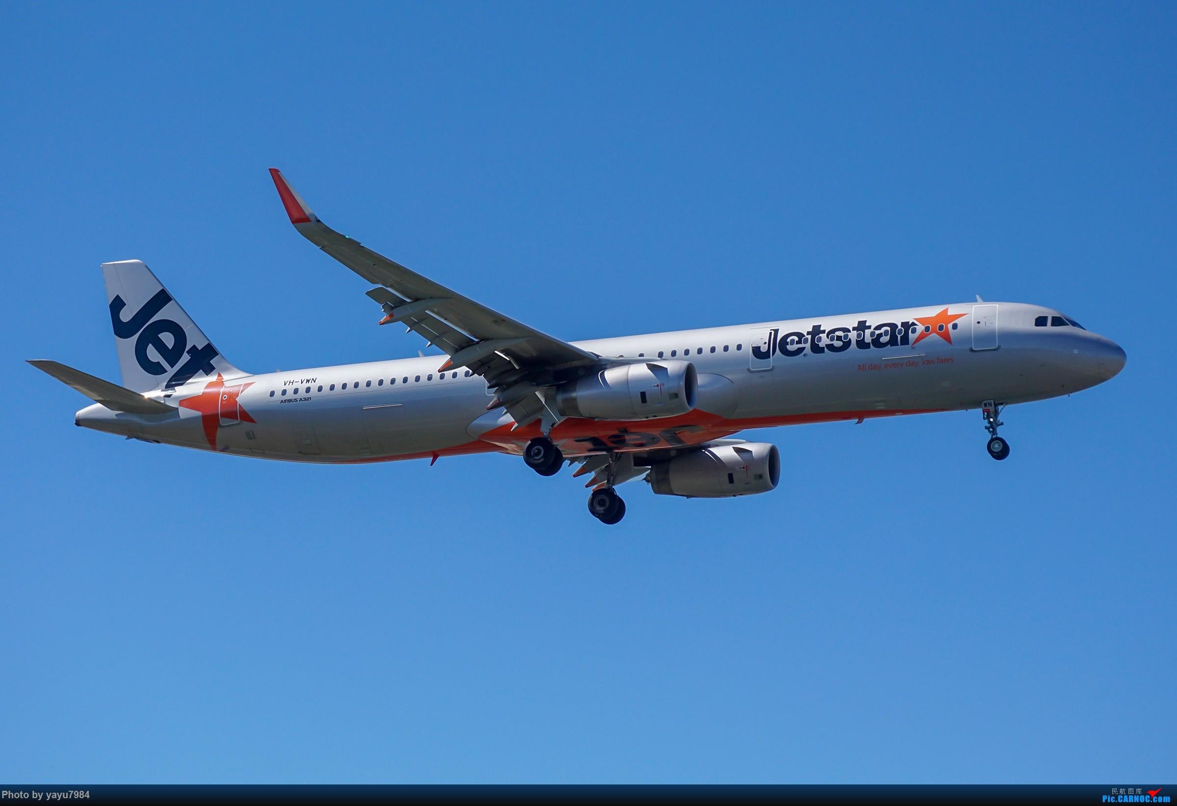 Re:[原创][SYD] 东航天合332,雪绒花343,华航蓝鹊,以及其他日常货 AIRBUS A321-200 VH-VWN 澳大利亚悉尼金斯福德·史密斯机场