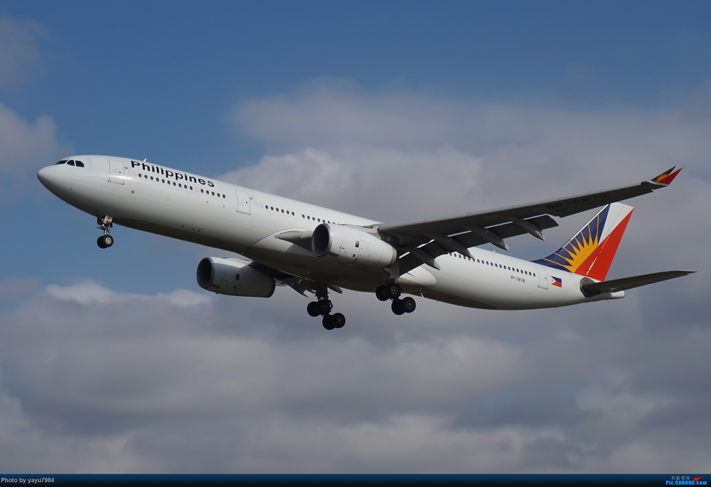 Re:[原创][SYD] 东航天合332,雪绒花343,华航蓝鹊,以及其他日常货 AIRBUS A330-300 RP-C8781 澳大利亚悉尼金斯福德·史密斯机场