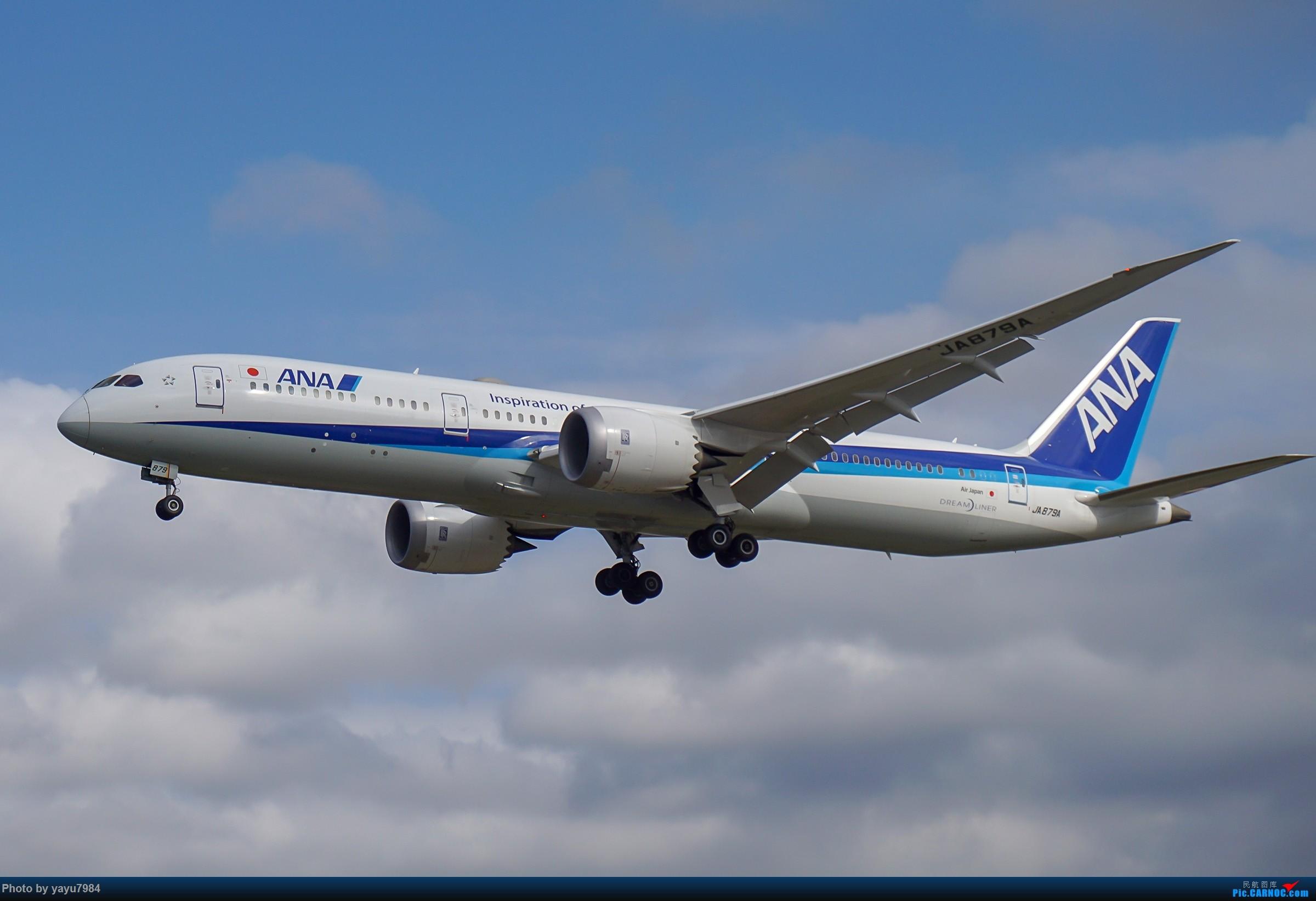 Re:[SYD] 东航天合332,雪绒花343,华航蓝鹊,以及其他日常货 BOEING 787-9 JA879A 澳大利亚悉尼金斯福德·史密斯机场