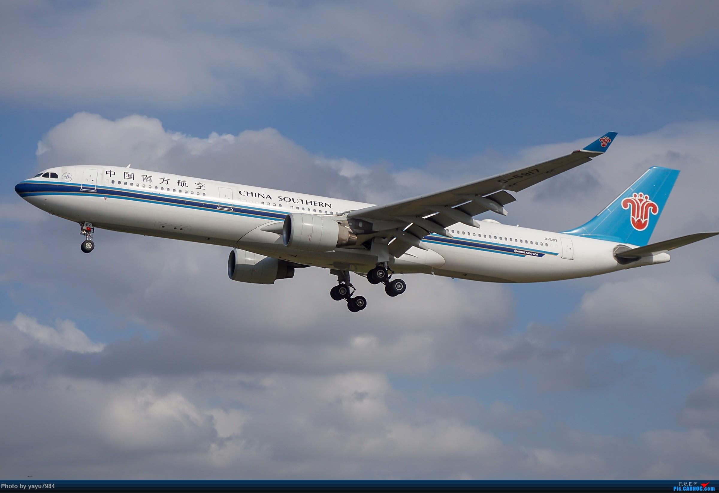 Re:[原创][SYD] 东航天合332,雪绒花343,华航蓝鹊,以及其他日常货 AIRBUS A330-300 B-5917 澳大利亚悉尼金斯福德·史密斯机场
