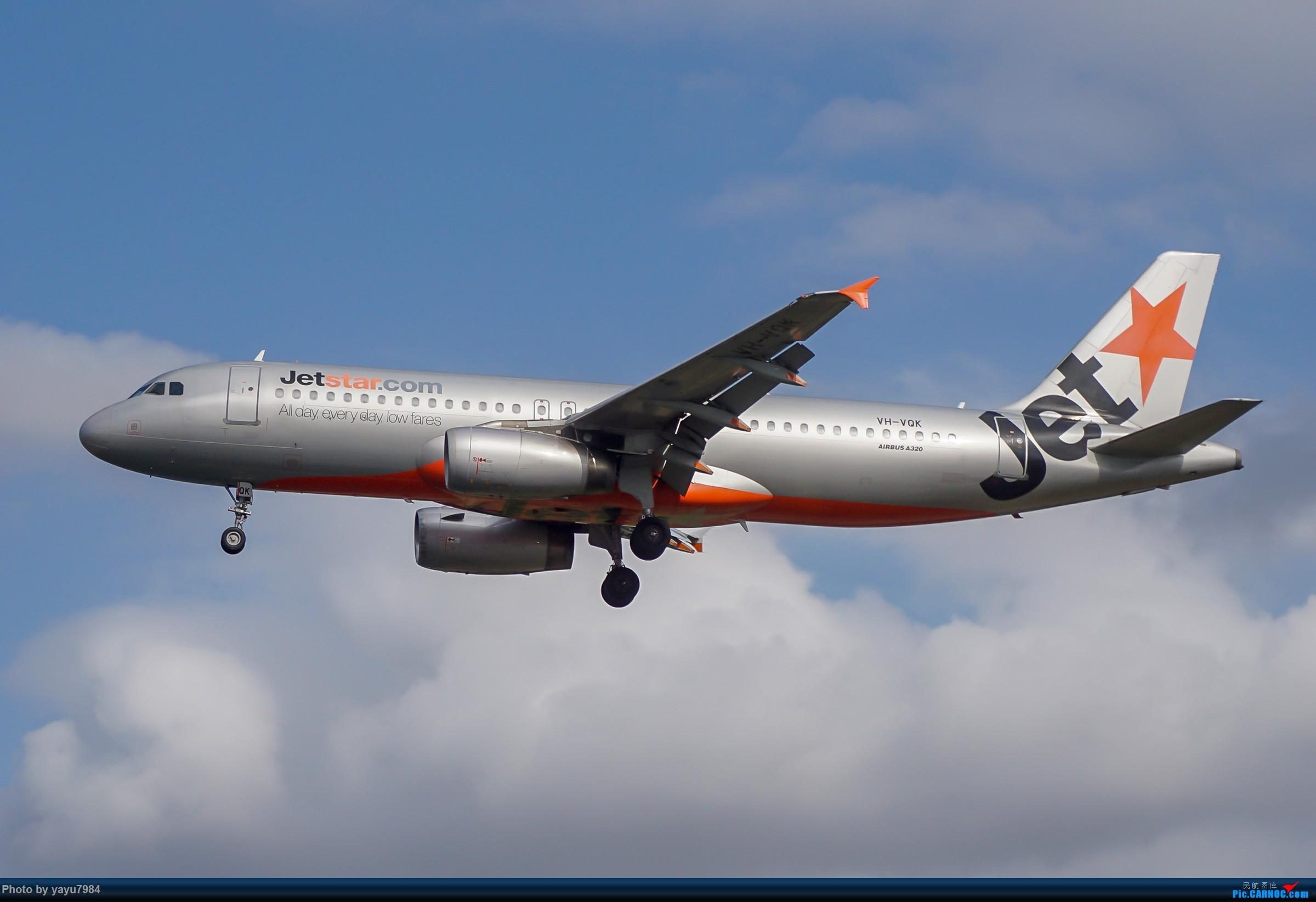 Re:[原创][SYD] 东航天合332,雪绒花343,华航蓝鹊,以及其他日常货 AIRBUS A320-200 VH-VQK 澳大利亚悉尼金斯福德·史密斯机场