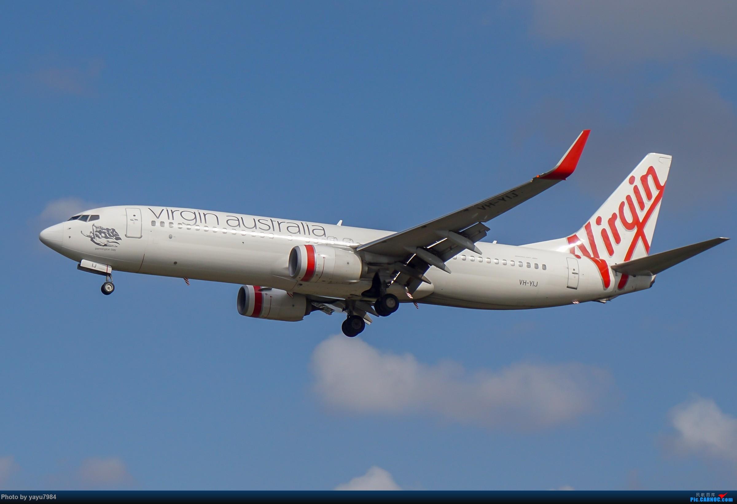 Re:[原创][SYD] 东航天合332,雪绒花343,华航蓝鹊,以及其他日常货 BOEING 737-800 VH-YIJ 澳大利亚悉尼金斯福德·史密斯机场