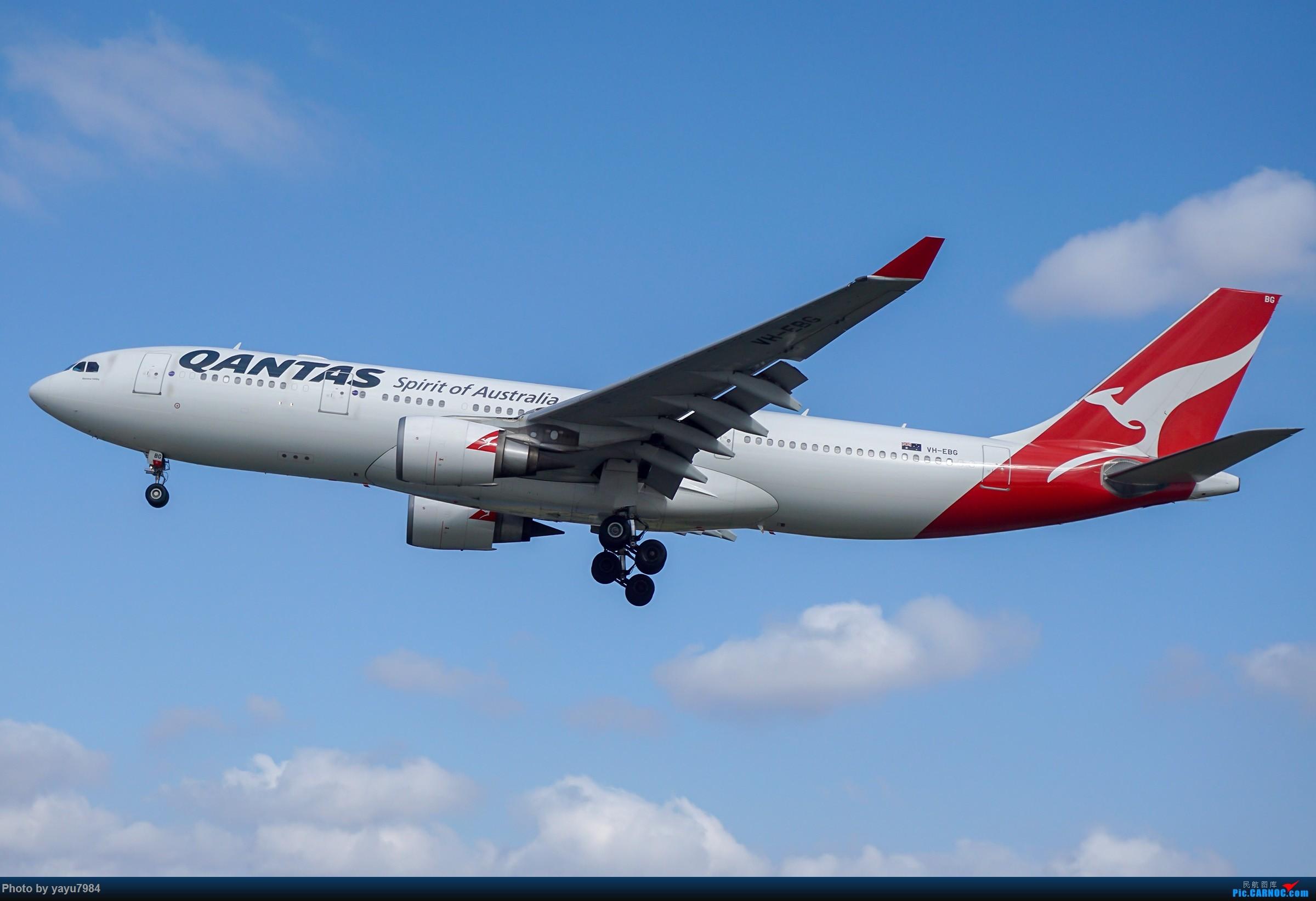 Re:[原创][SYD] 东航天合332,雪绒花343,华航蓝鹊,以及其他日常货 AIRBUS A330-200 VH-EBG 澳大利亚悉尼金斯福德·史密斯机场