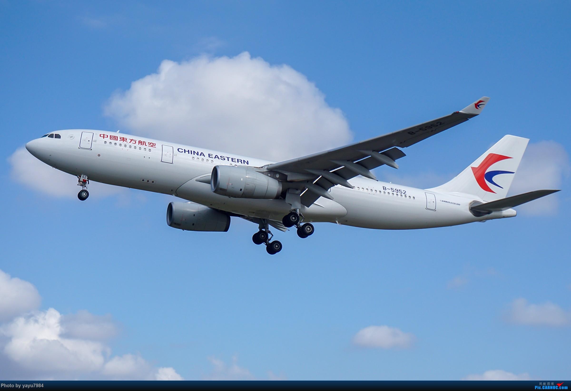 Re:[原创][SYD] 东航天合332,雪绒花343,华航蓝鹊,以及其他日常货 AIRBUS A330-200 B-5952 澳大利亚悉尼金斯福德·史密斯机场