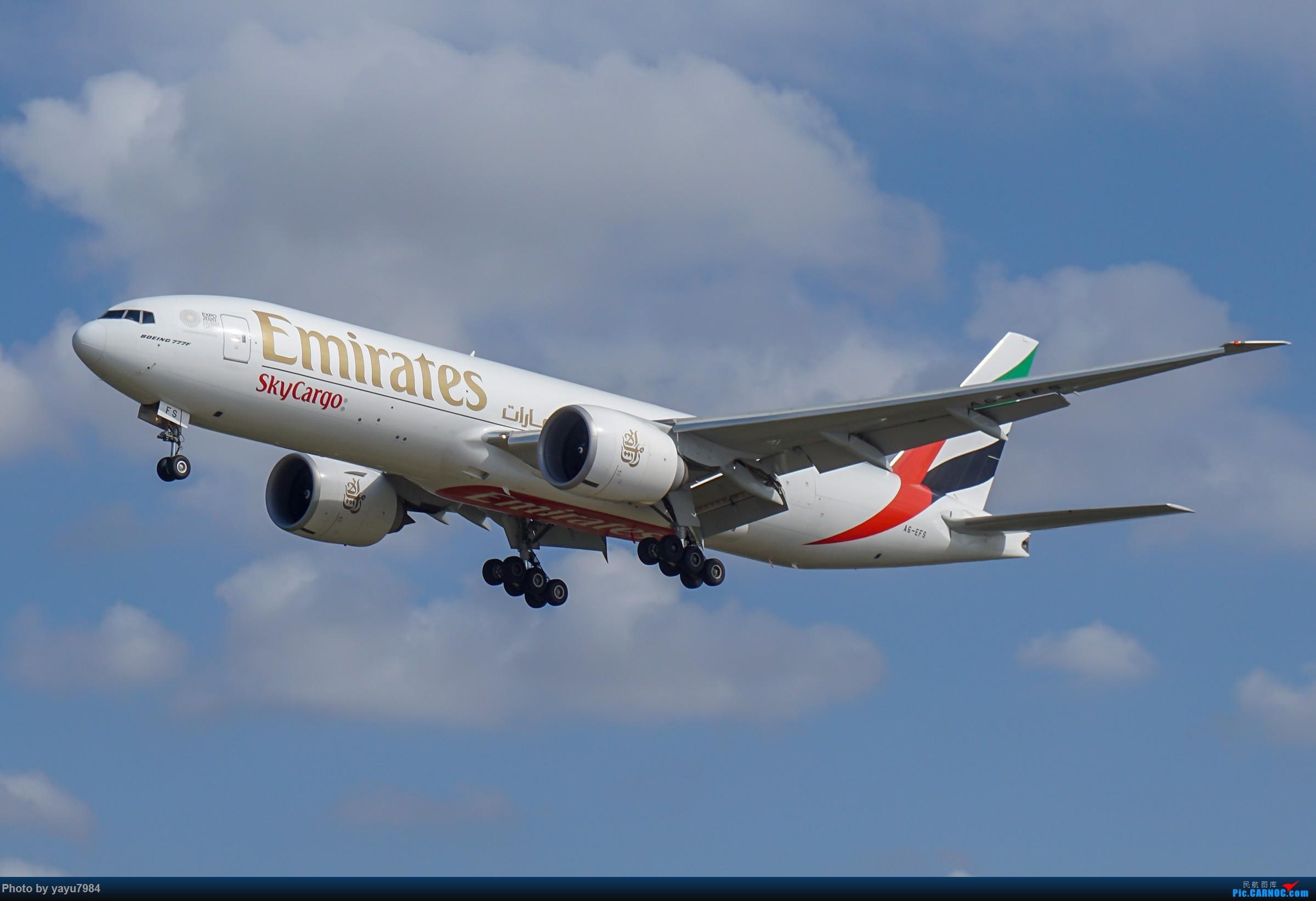 Re:[原创][SYD] 东航天合332,雪绒花343,华航蓝鹊,以及其他日常货 BOEING 777F A6-EFS 澳大利亚悉尼金斯福德·史密斯机场