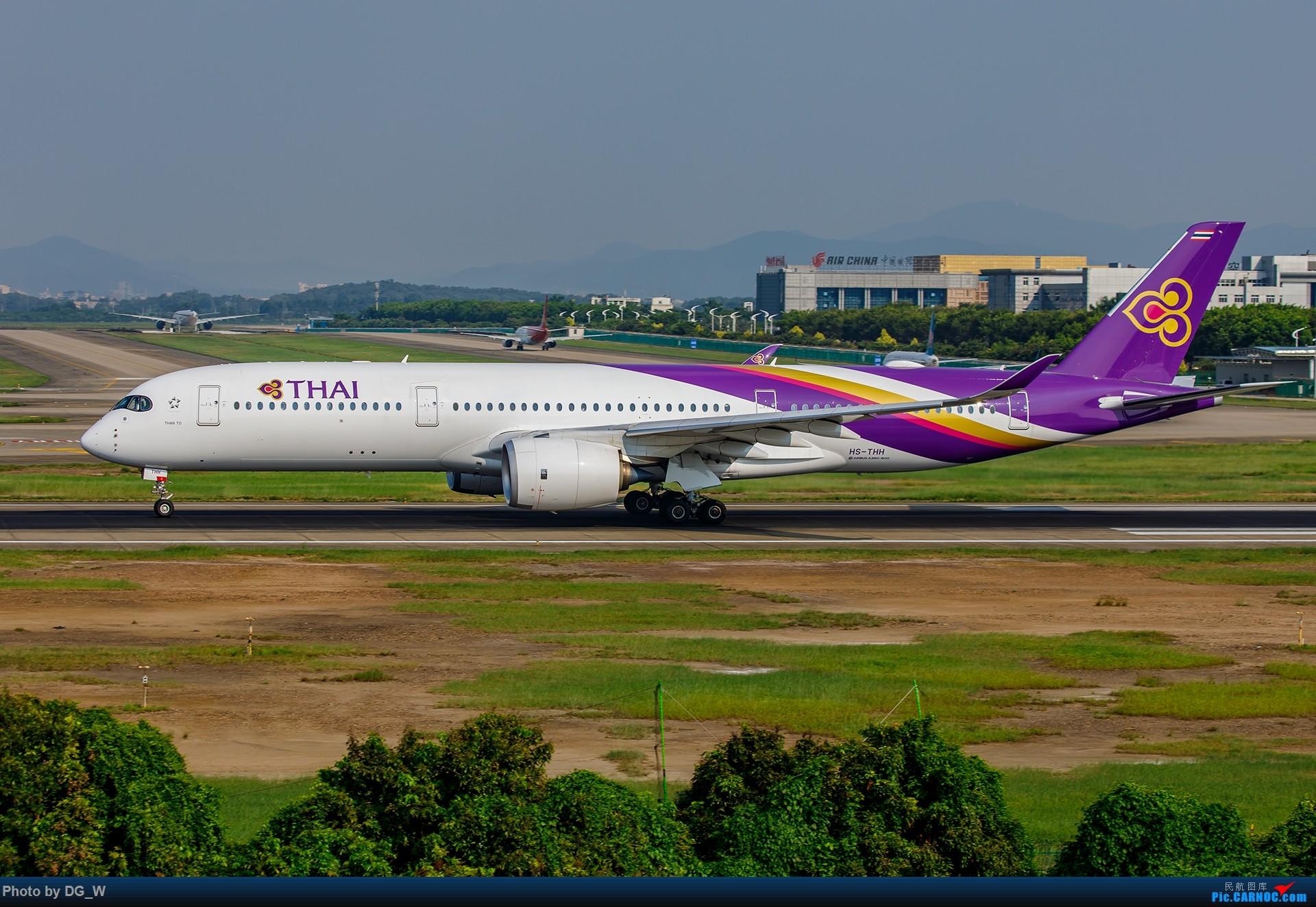 Re:【南宁飞友】CAN西跑的午后 AIRBUS A350-900 HS-THH 中国广州白云国际机场