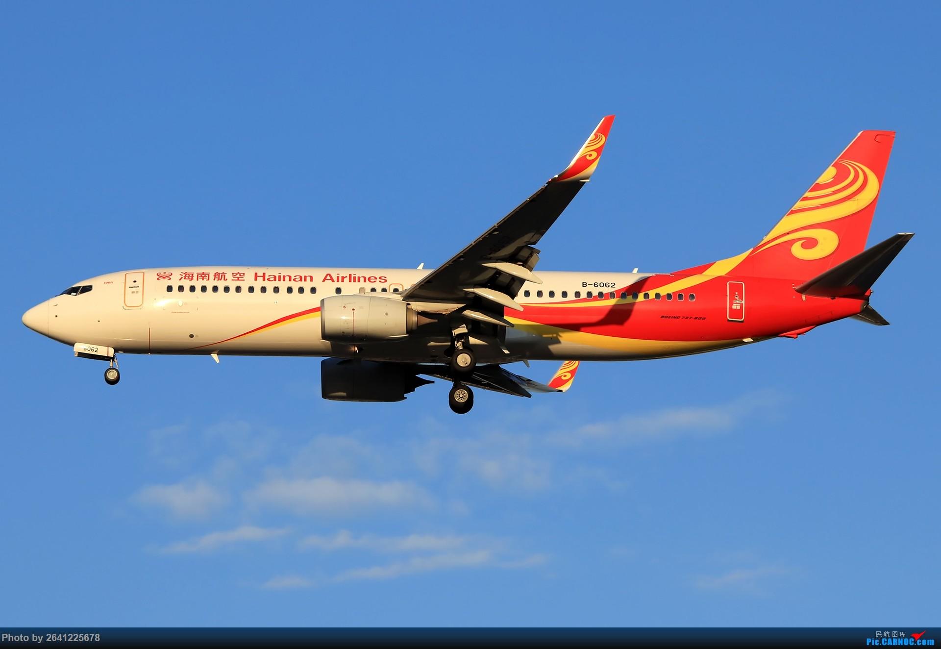 Re:[原创]库存集锦 BOEING 737-800 B-6062 中国北京首都国际机场