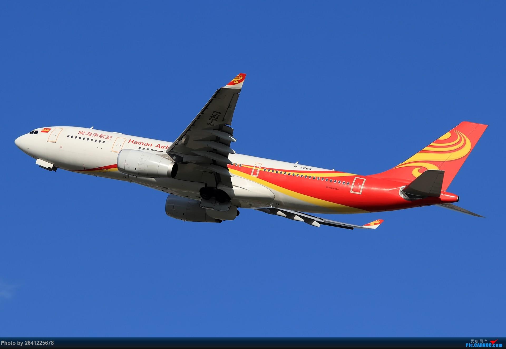 Re:[原创]库存集锦 AIRBUS A330-200 B-5963 中国北京首都国际机场
