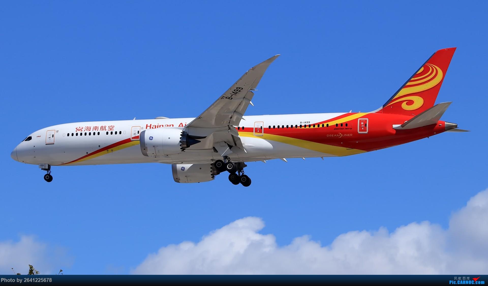 Re:[原创]库存集锦 BOEING 787-9 B-1499 中国北京首都国际机场