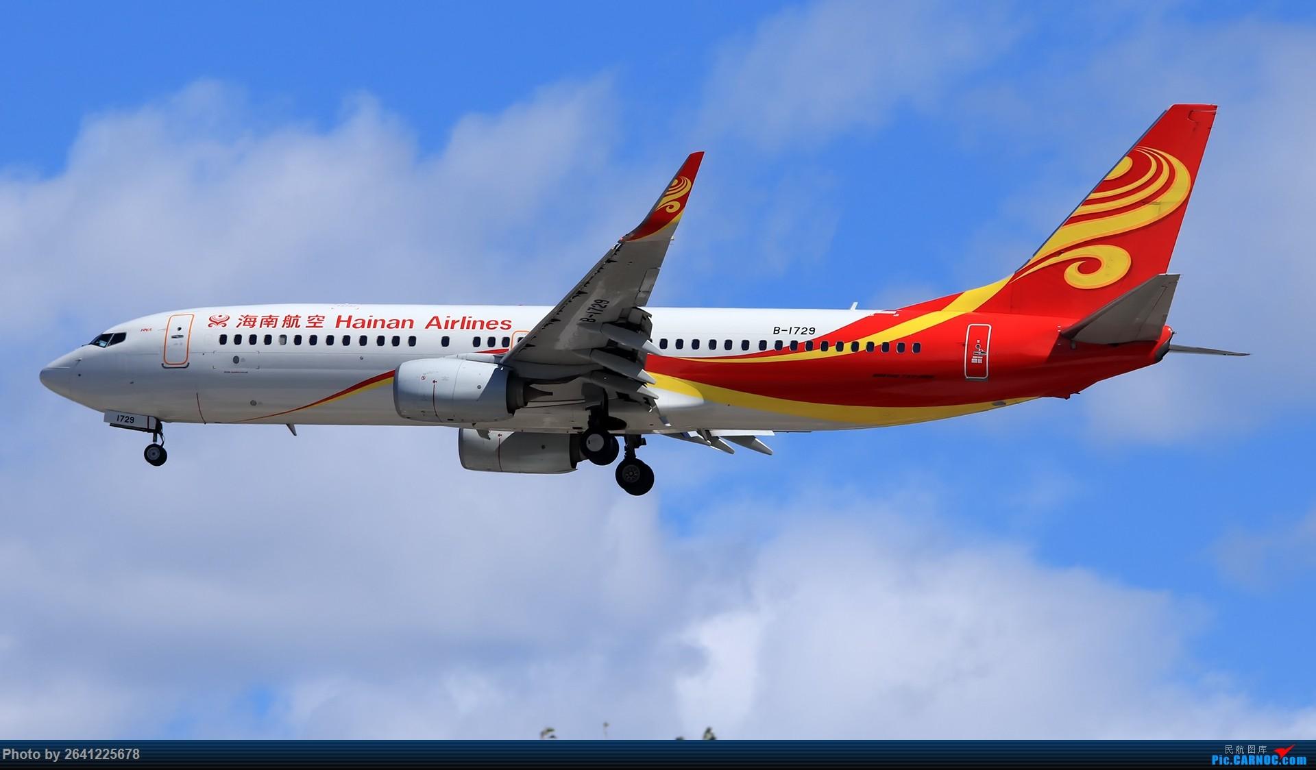 Re:[原创]库存集锦 BOEING 737-800 B-1729 中国北京首都国际机场