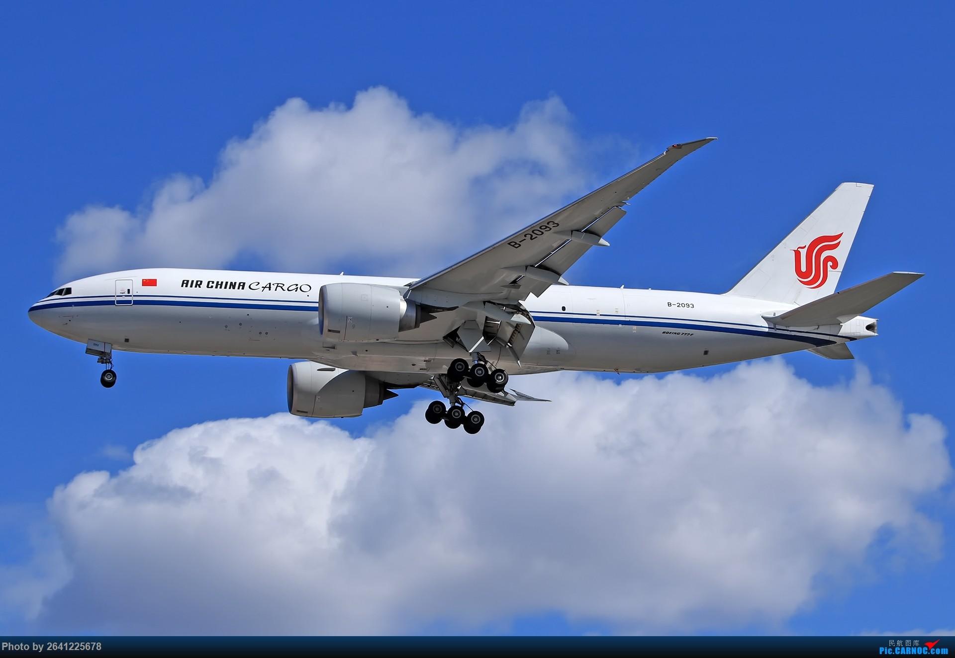 Re:[原创]库存集锦 BOEING 777F B-2093 中国北京首都国际机场
