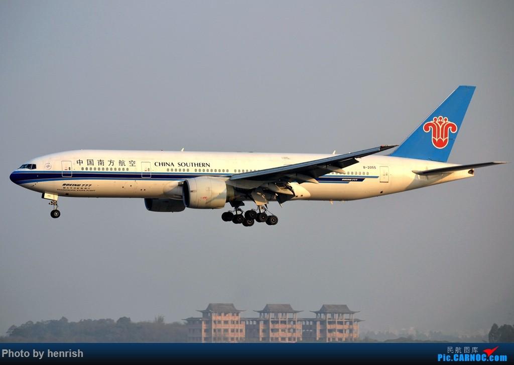 [原创]【肥威的CAN】老图党一下! BOEING 777-200 B-2055 中国广州白云国际机场