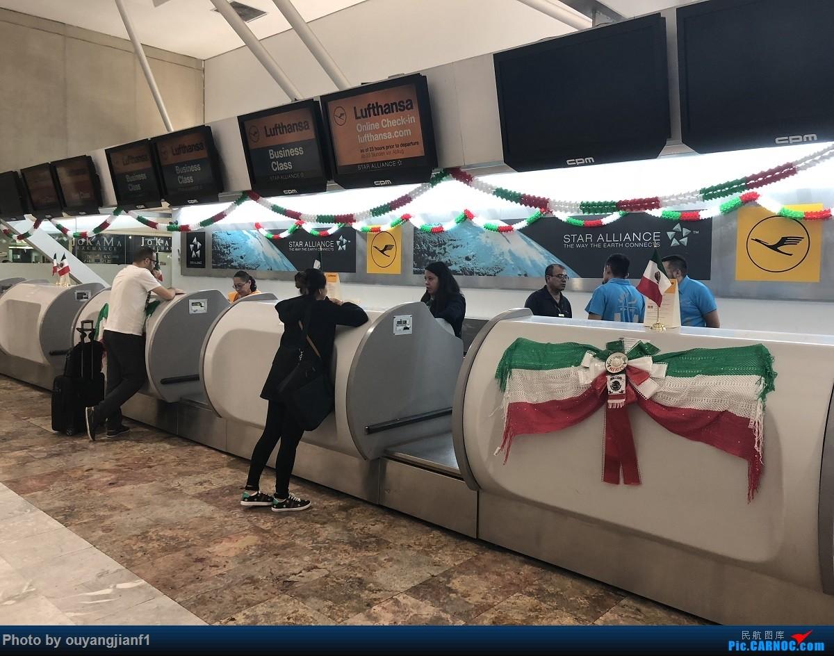 又是好久没来坛子了,发几篇2018年的飞行游记纪念一下吧....第一篇,环球飞行之旅:北京-纽瓦克-波哥大-麦德林-巴拿马城-墨西哥城-法兰克福-北京    墨西哥墨西哥城机场