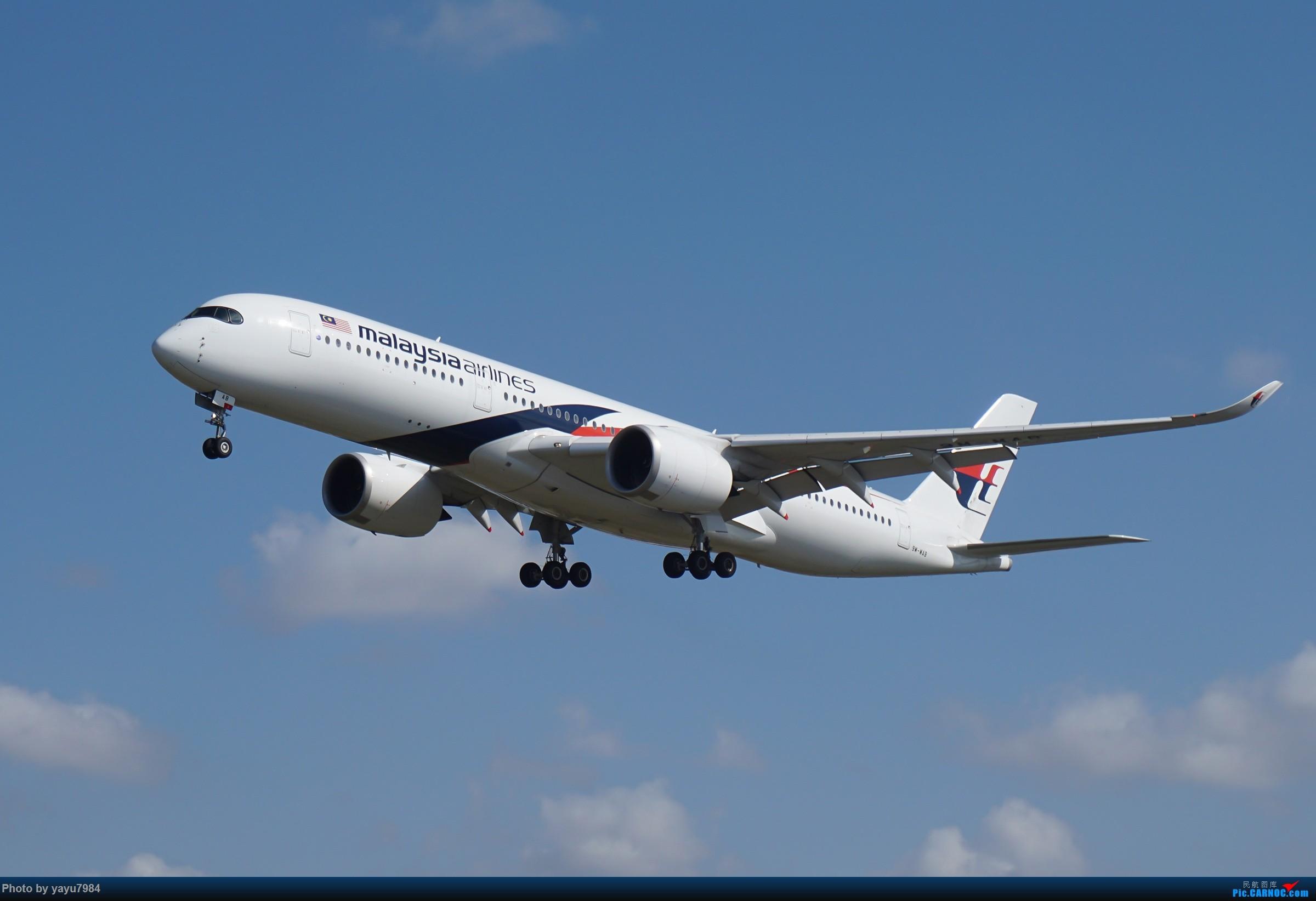 Re:[原创][SYD] 东航天合332,雪绒花343,华航蓝鹊,以及其他日常货 AIRBUS A350-900 9M-MAB 澳大利亚悉尼金斯福德·史密斯机场