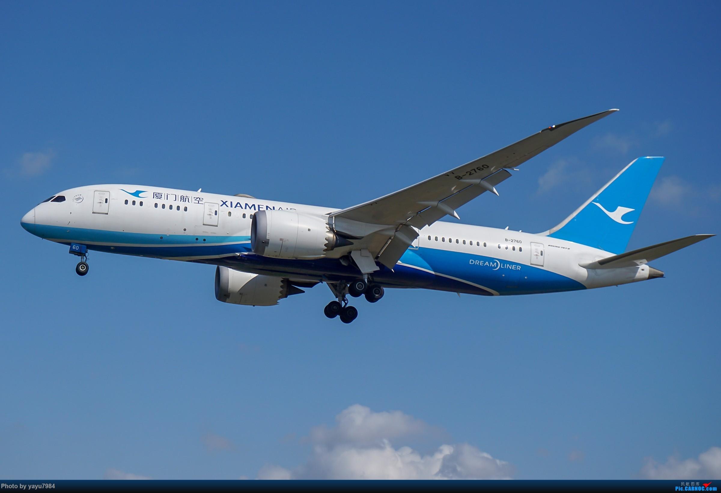 Re:[原创][SYD] 东航天合332,雪绒花343,华航蓝鹊,以及其他日常货 BOEING 787-8 B-2760 澳大利亚悉尼金斯福德·史密斯机场