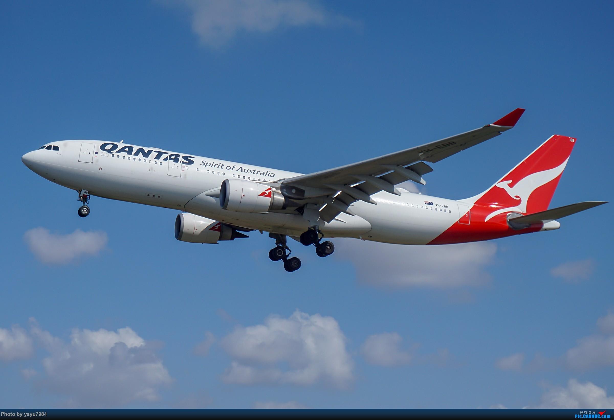 Re:[原创][SYD] 东航天合332,雪绒花343,华航蓝鹊,以及其他日常货 AIRBUS A330-200 VH-EBB 澳大利亚悉尼金斯福德·史密斯机场