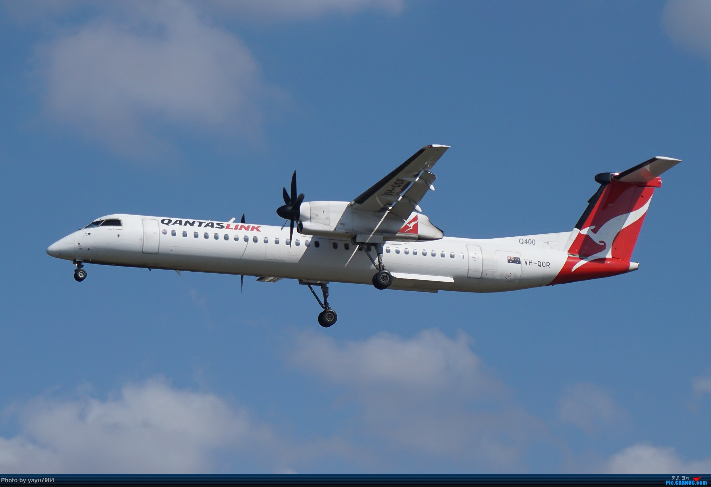 Re:[原创][SYD] 东航天合332,雪绒花343,华航蓝鹊,以及其他日常货 DE HAVILLAND CANADA DHC-8-400 VH-QOR 澳大利亚悉尼金斯福德·史密斯机场