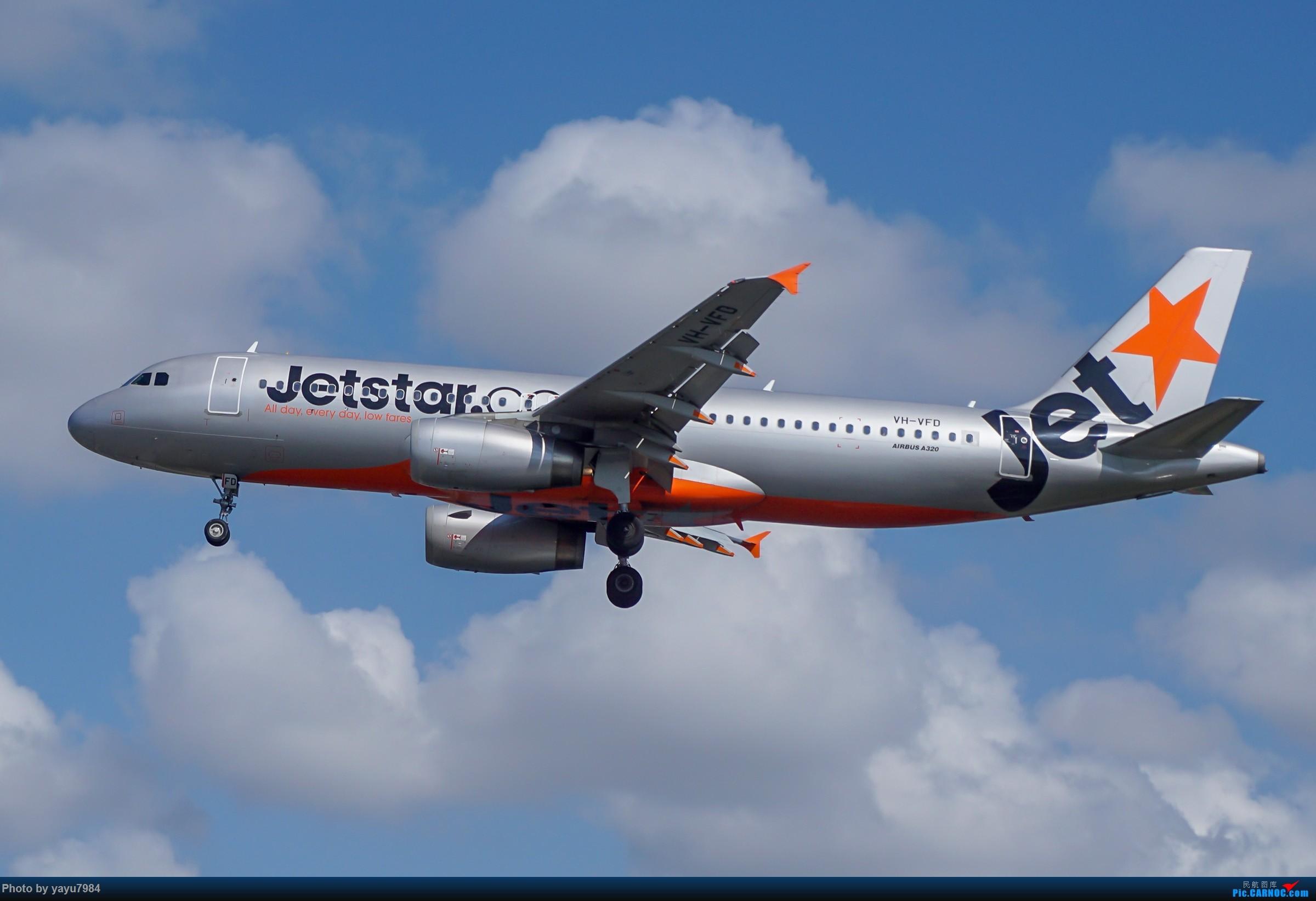 Re:[原创][SYD] 东航天合332,雪绒花343,华航蓝鹊,以及其他日常货 AIRBUS A320-200 VH-VFD 澳大利亚悉尼金斯福德·史密斯机场