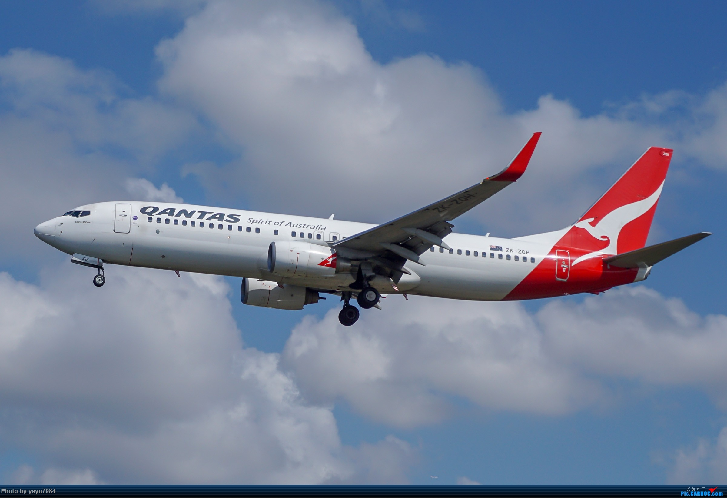 Re:[原创][SYD] 东航天合332,雪绒花343,华航蓝鹊,以及其他日常货 BOEING 737-800 ZK-ZQH 澳大利亚悉尼金斯福德·史密斯机场